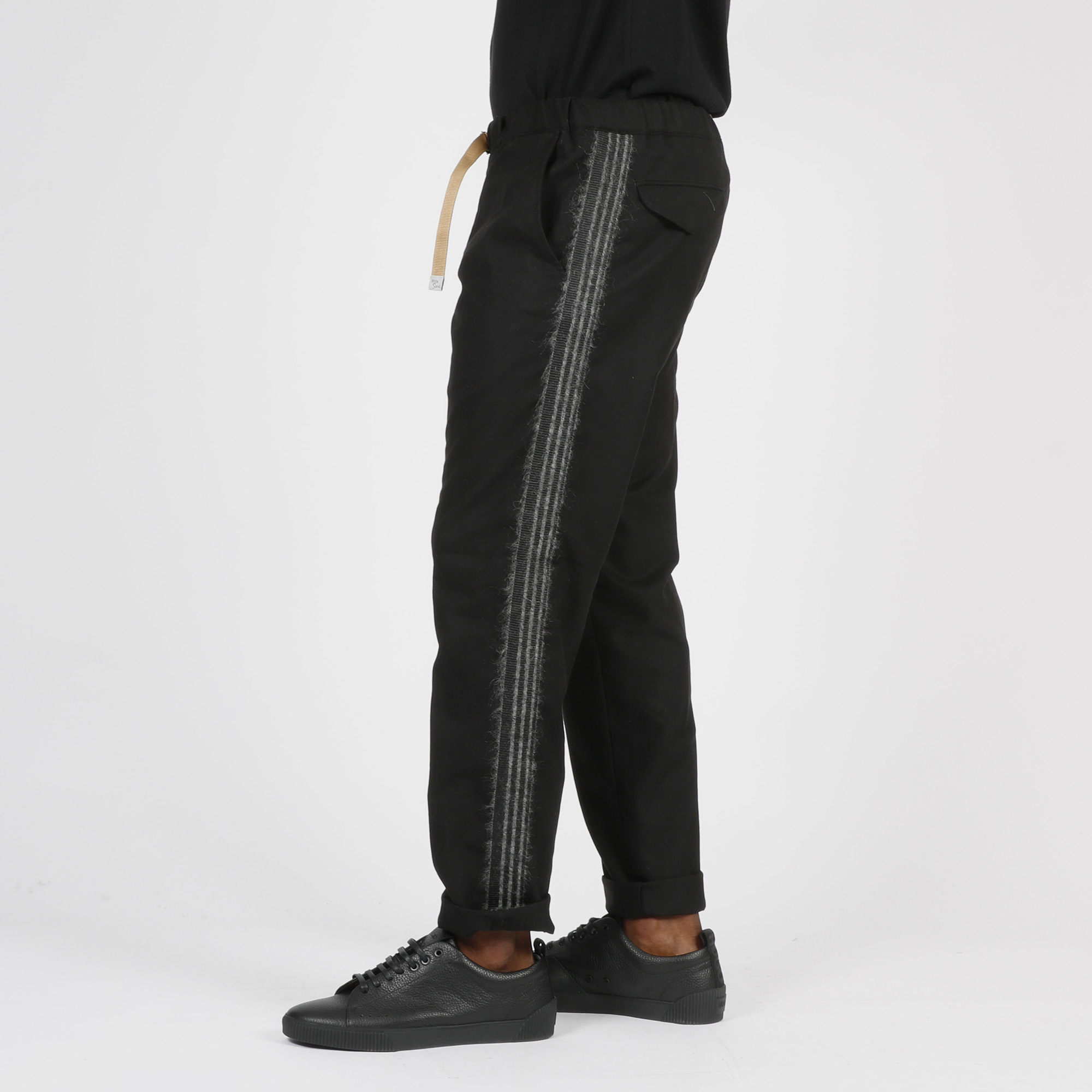 Pantalone fascia laterale - Nero
