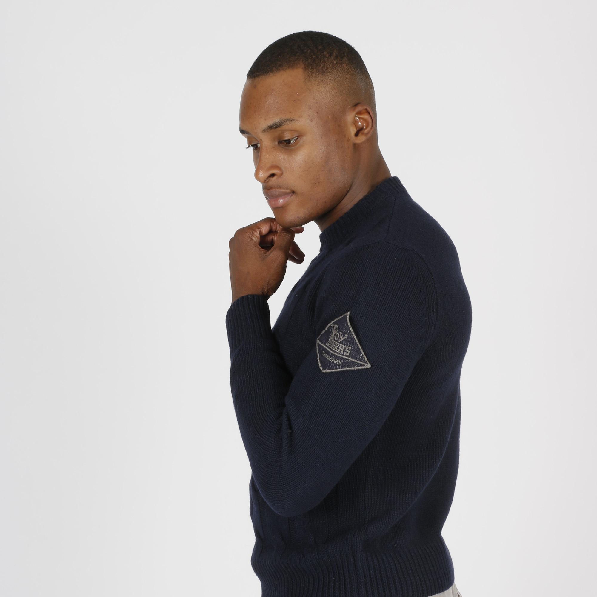 Maglia wool e cashmere - Blu