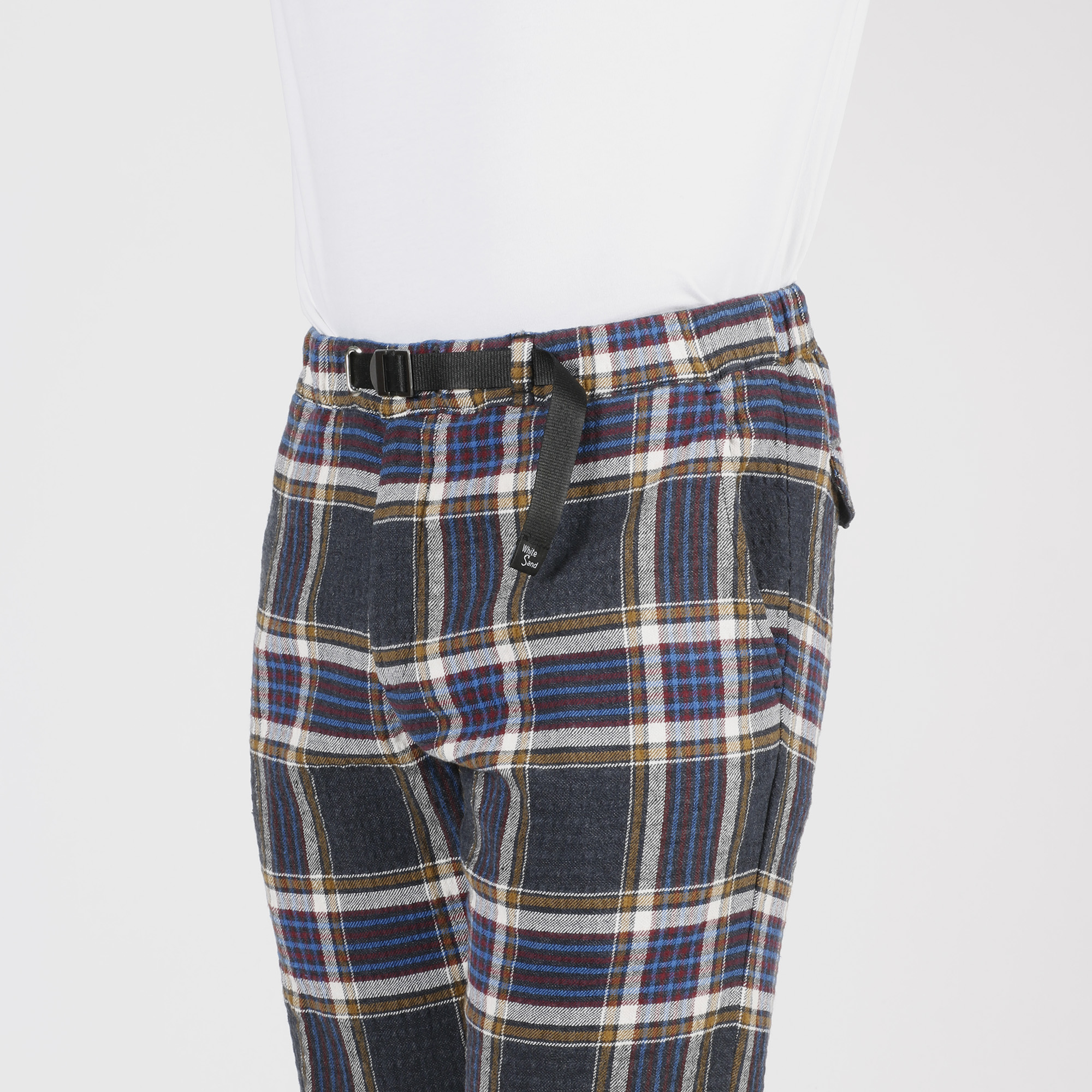 Pantalone madras - Blu