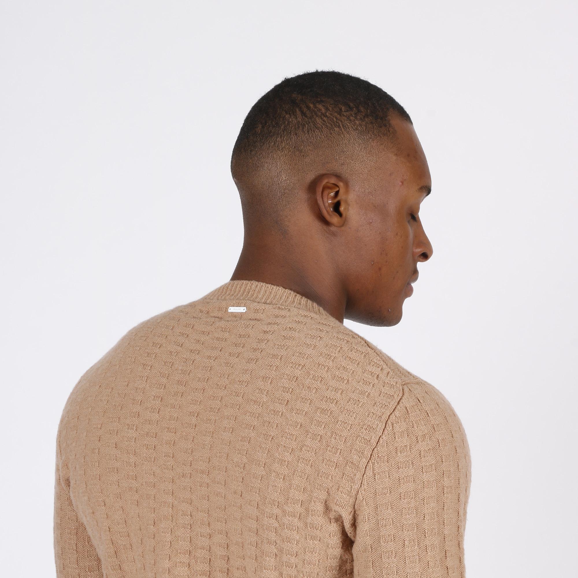 Maglione punto maglia - Biscotto