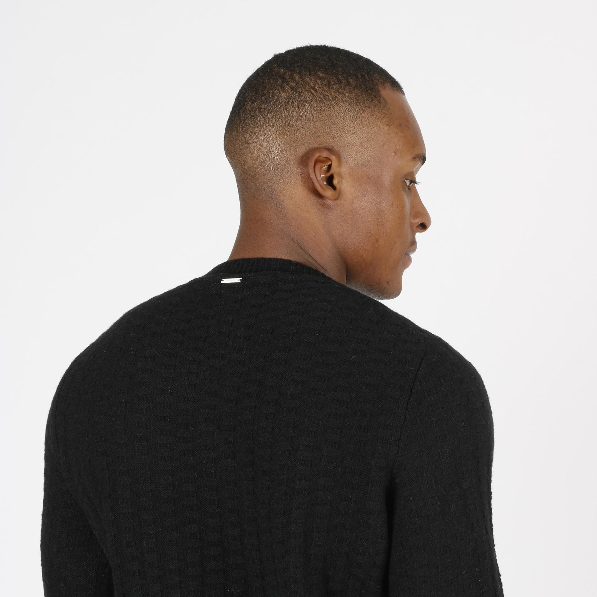 Maglione punto maglia - Nero