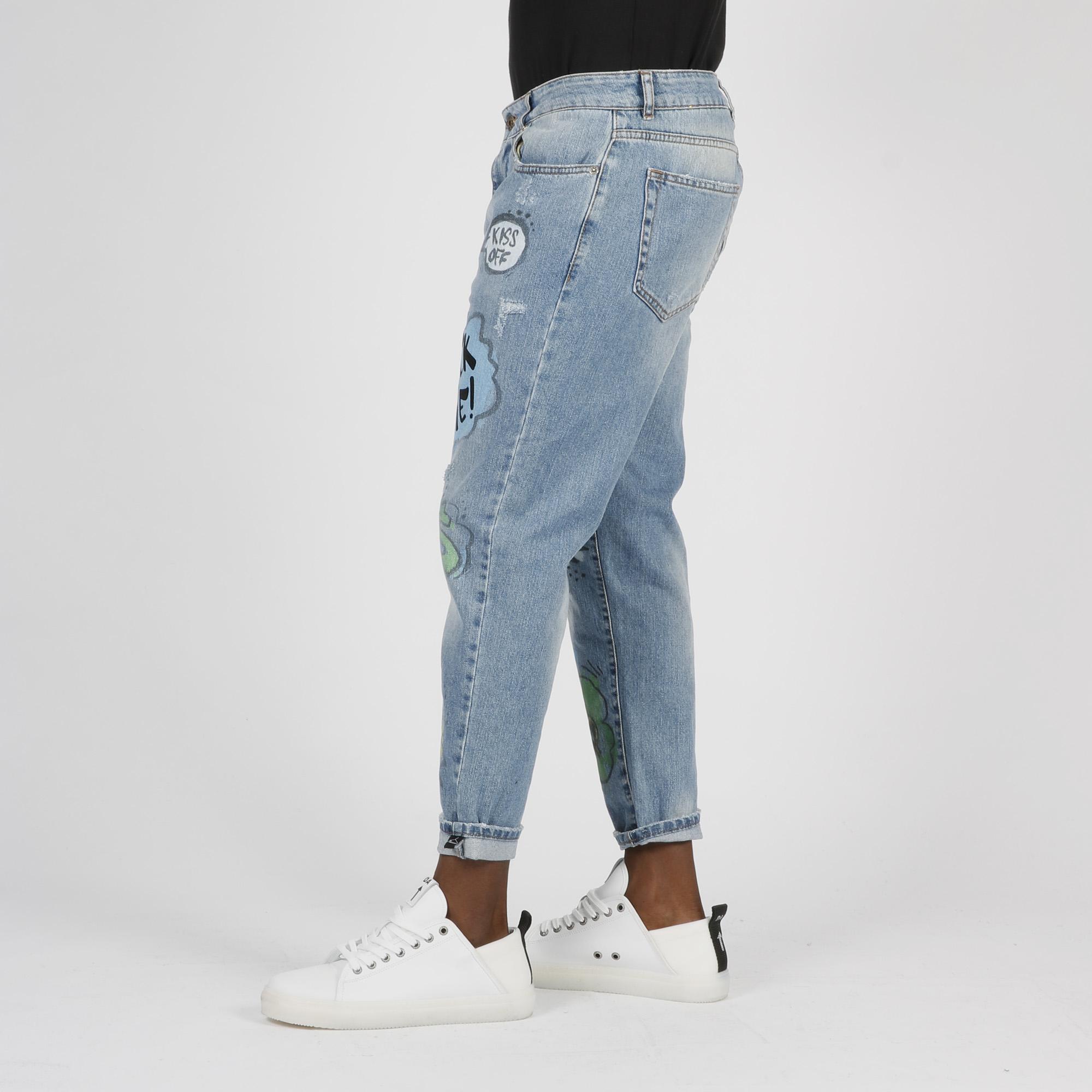 Jeans graffiti - Denim