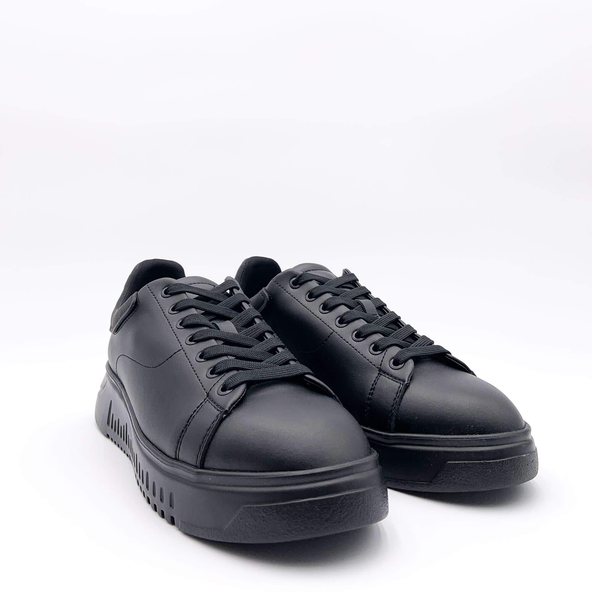 Sneakers aquila oro - Nero