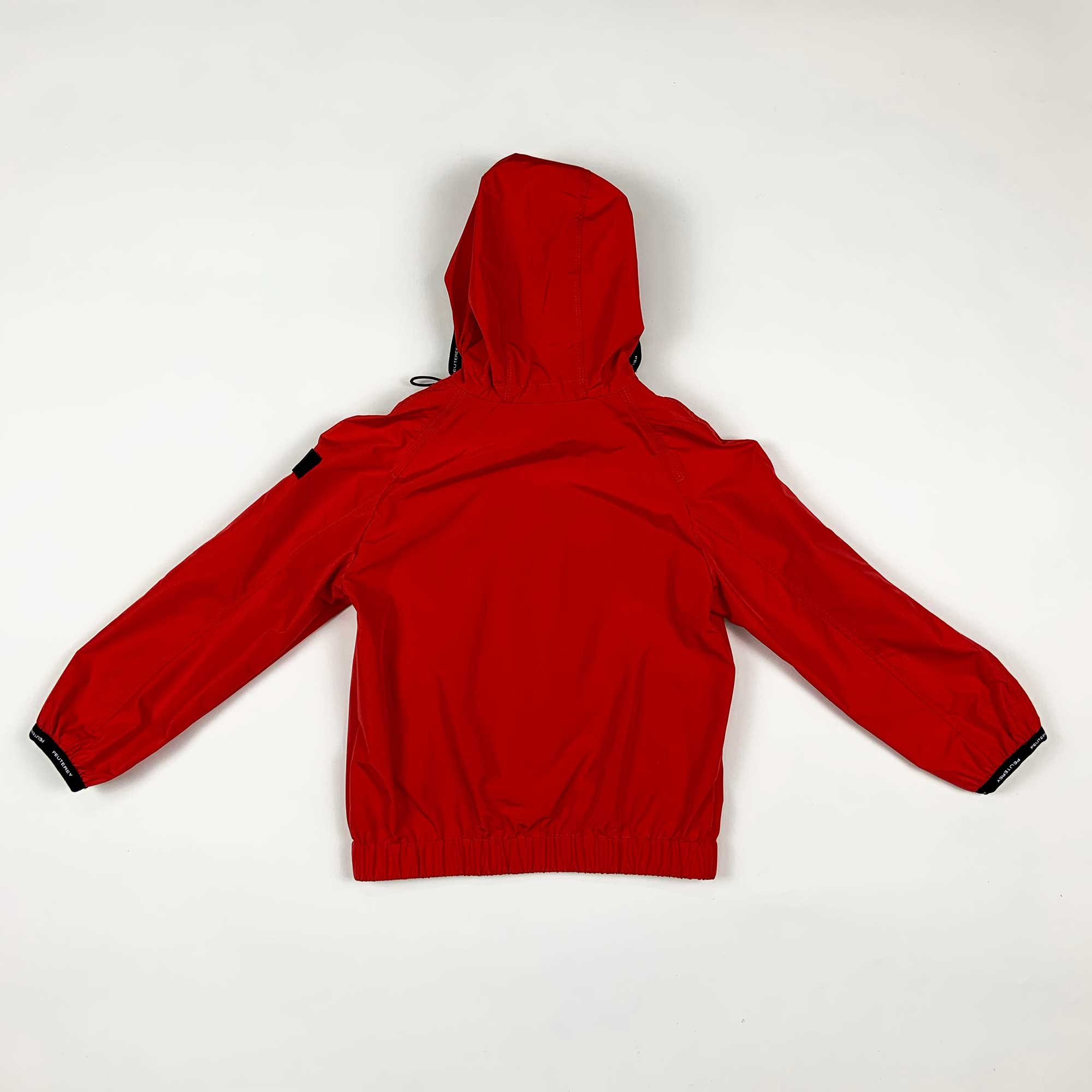 Giubbino boy con cappuccio - Rosso