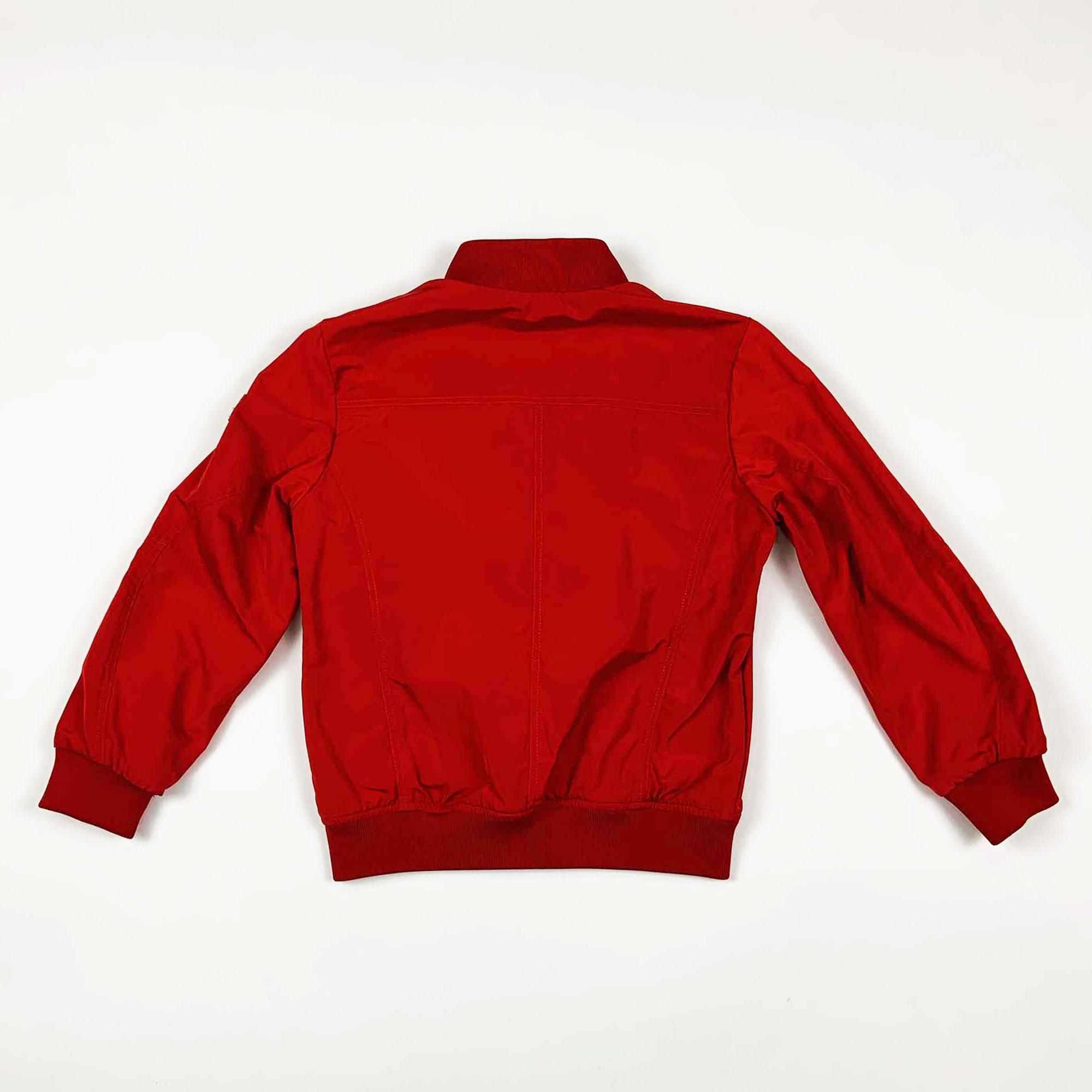 Giubbino boy senza cappuccio - Rosso