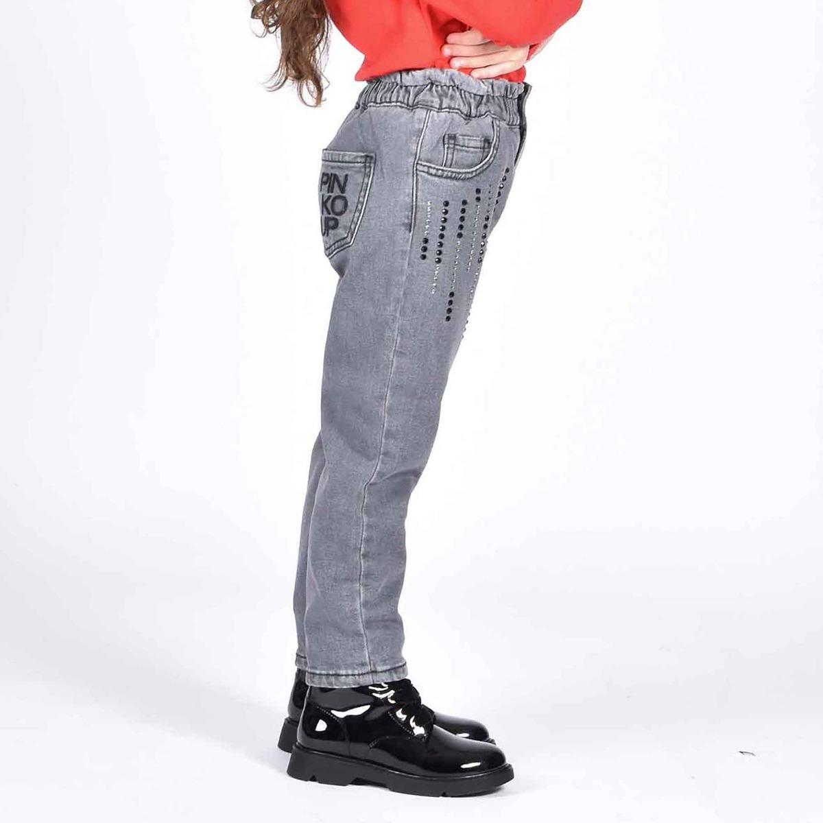Jeans strass - Denim nero