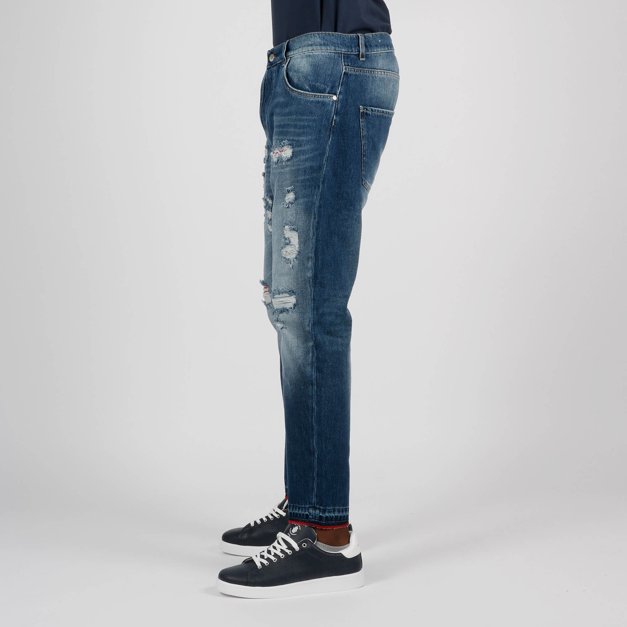 Jeans renato strappi - Denim
