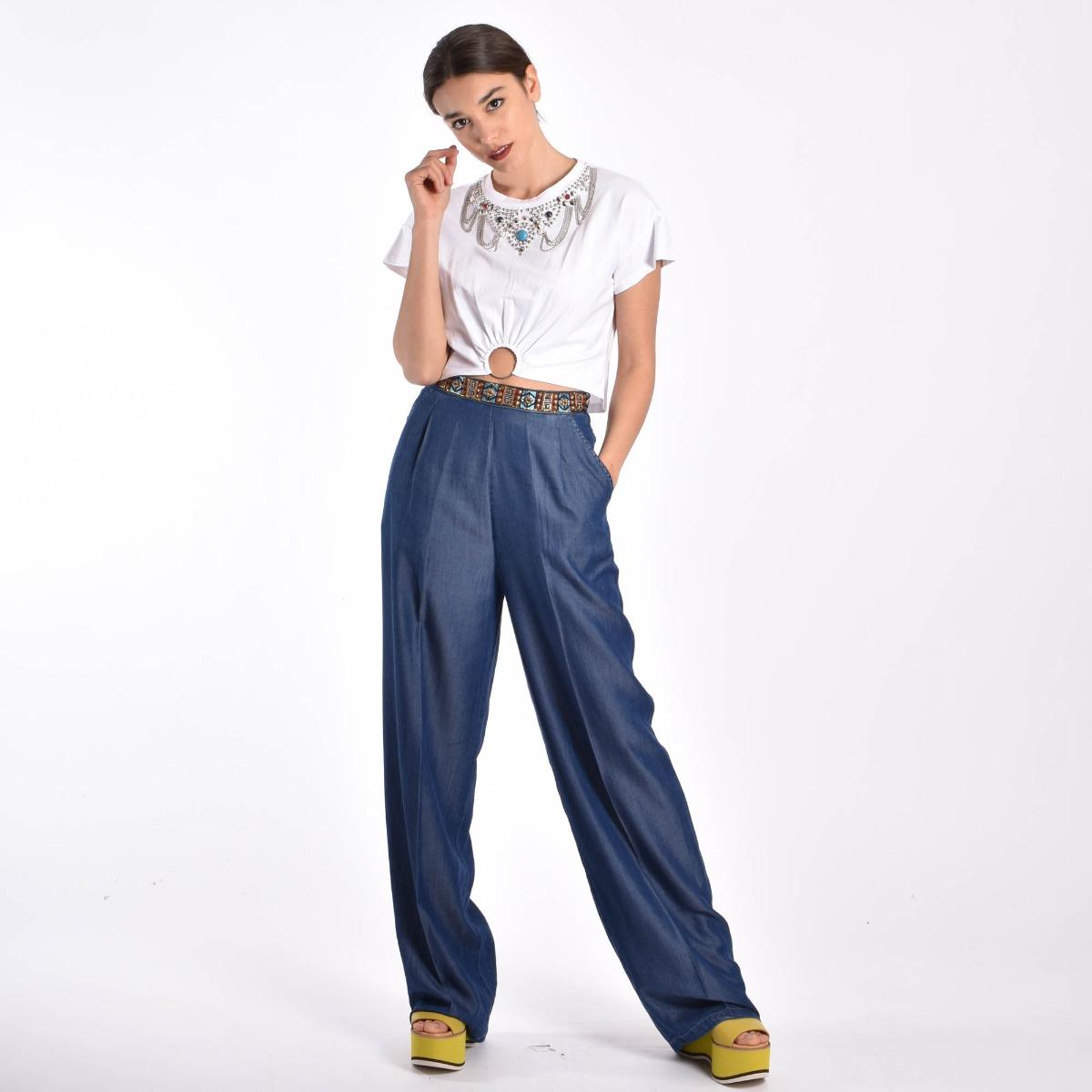 Jeans applicazioni vita- Denim
