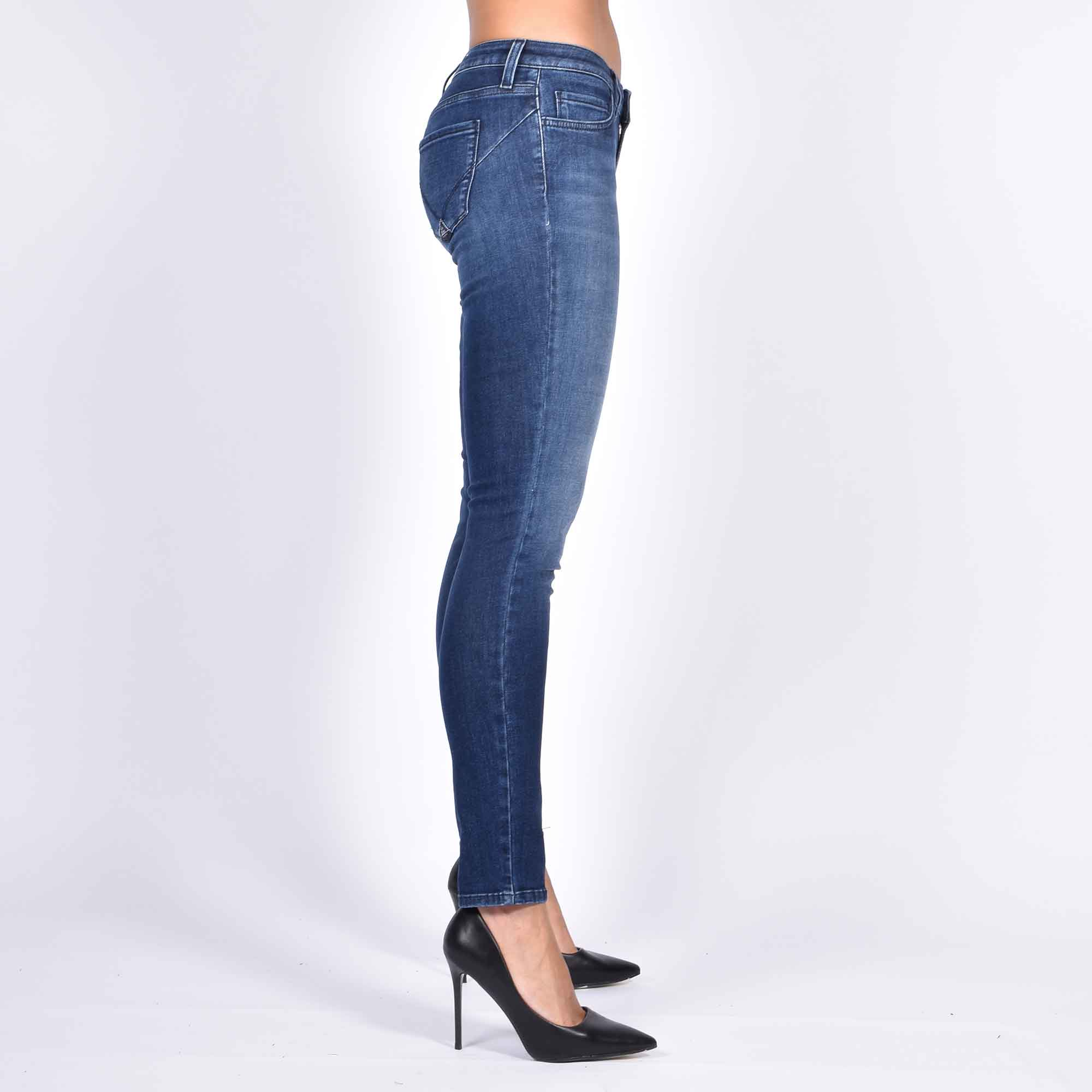 Jeans push up cindy - Denim