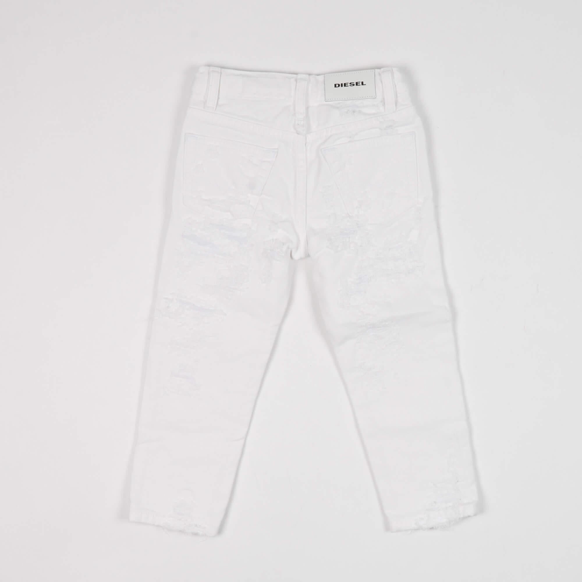 Jeans mharky - Bianco