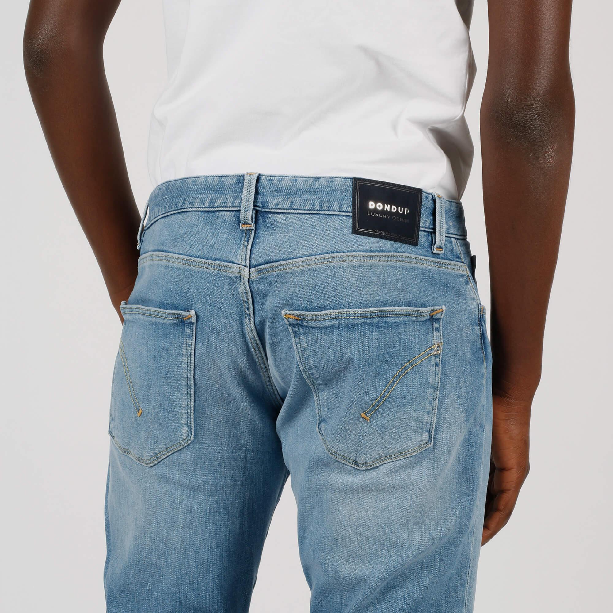 Jeans sartoriale regular - Denim Chiaro