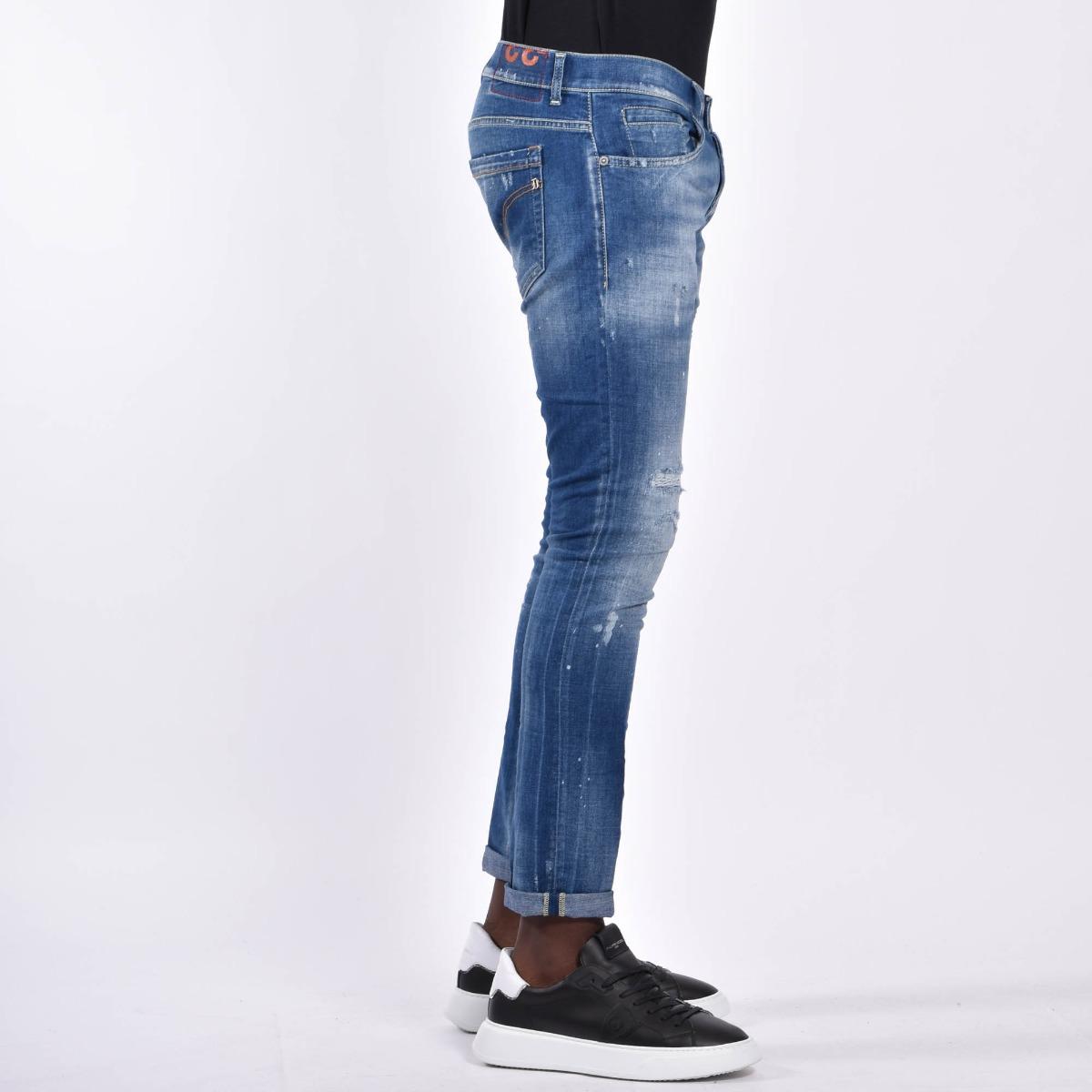 Pantalone george- Denim medio