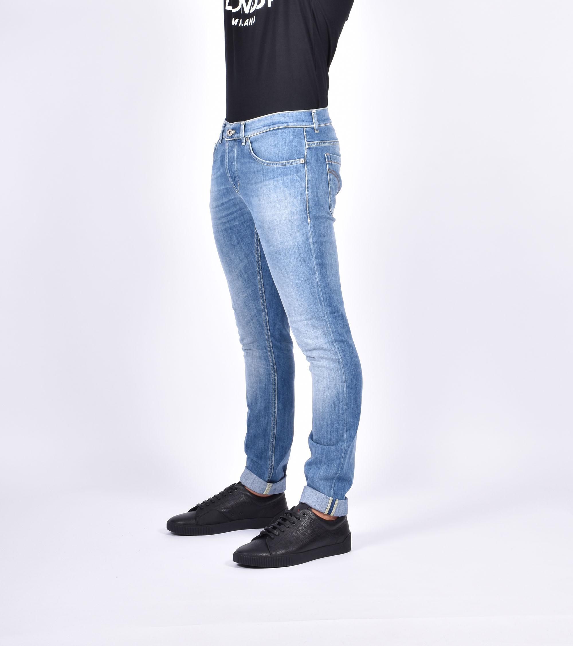 Jeans george scolorito - Denim chiaro