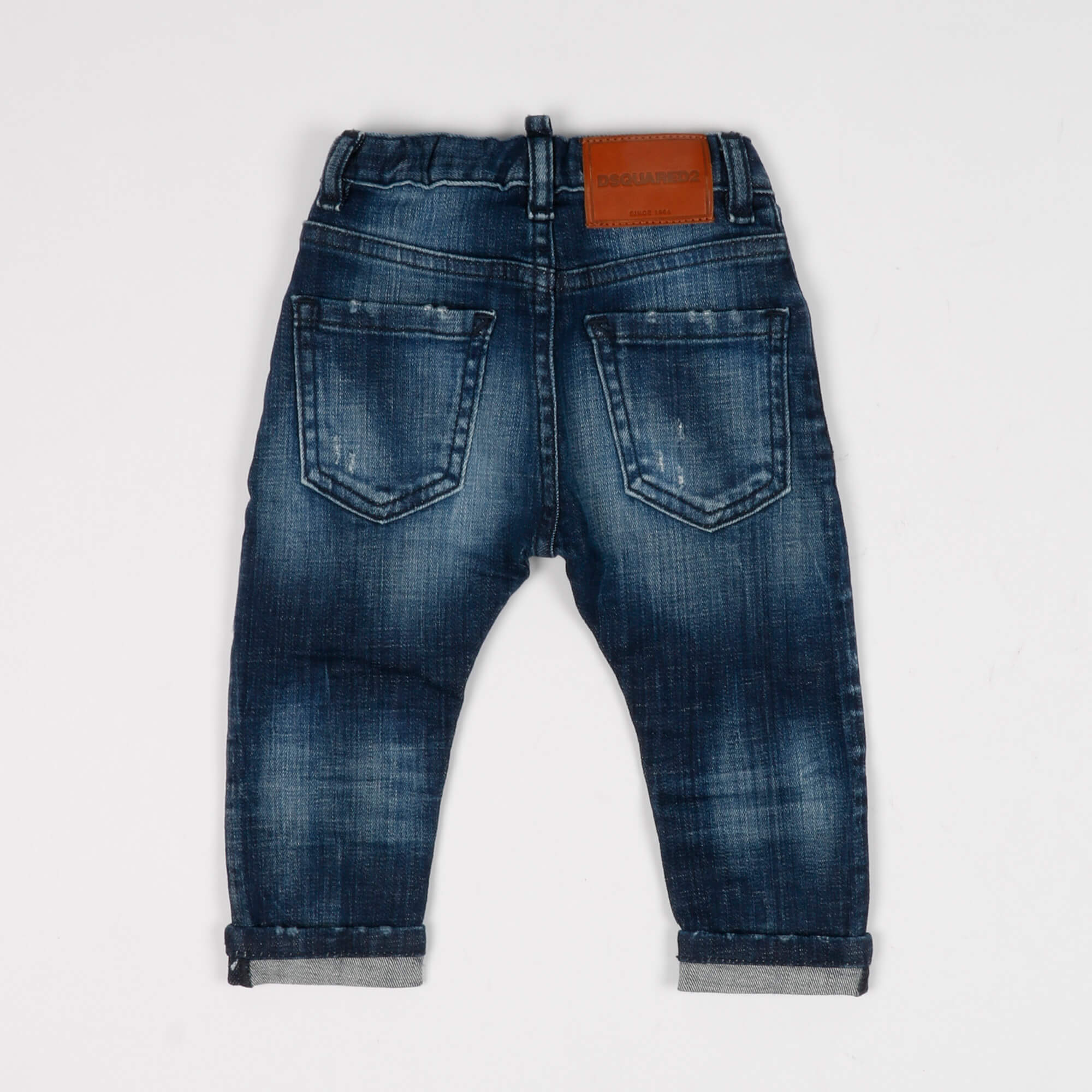 Jeans logo - Denim scuro