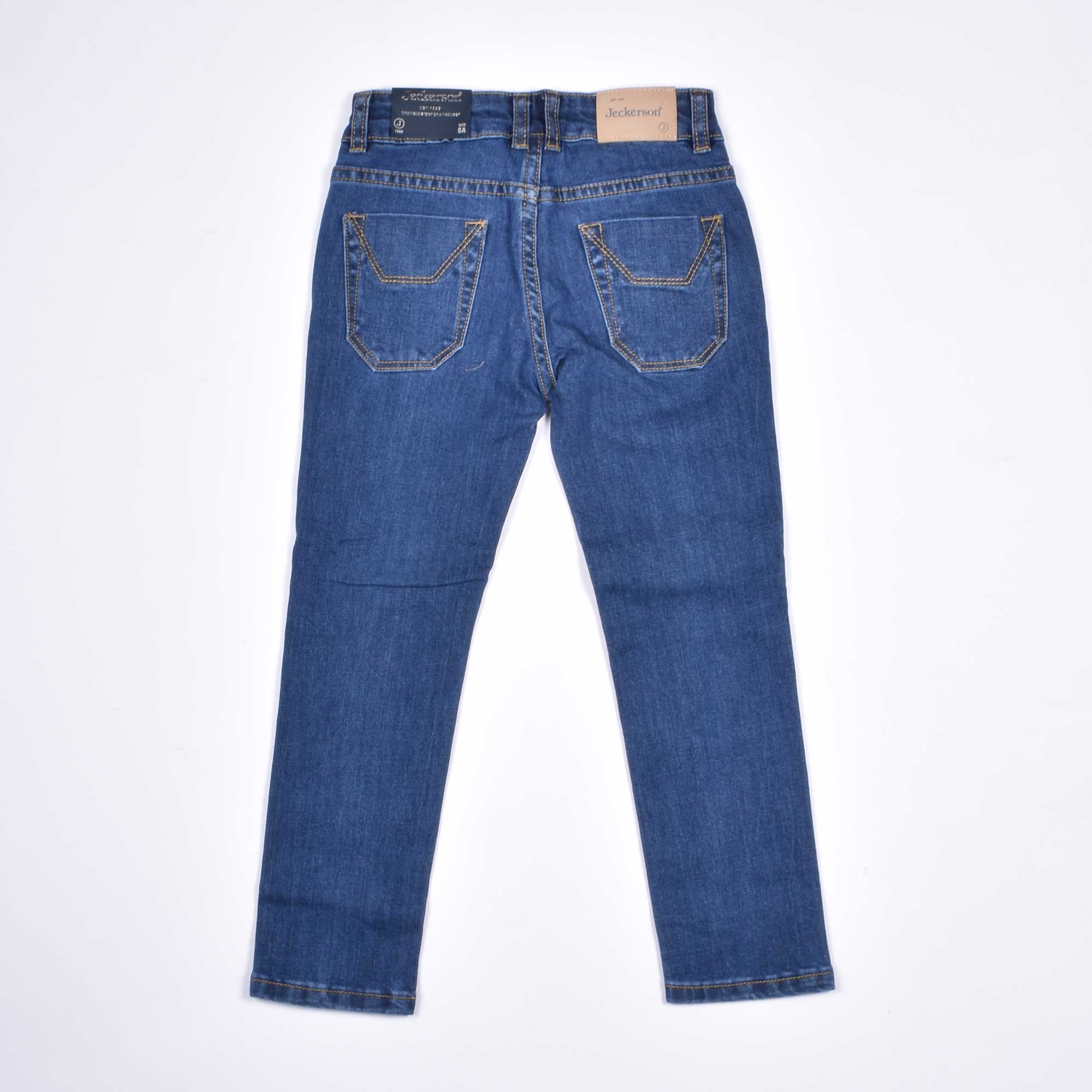 Jeans toppa logo j - Denim