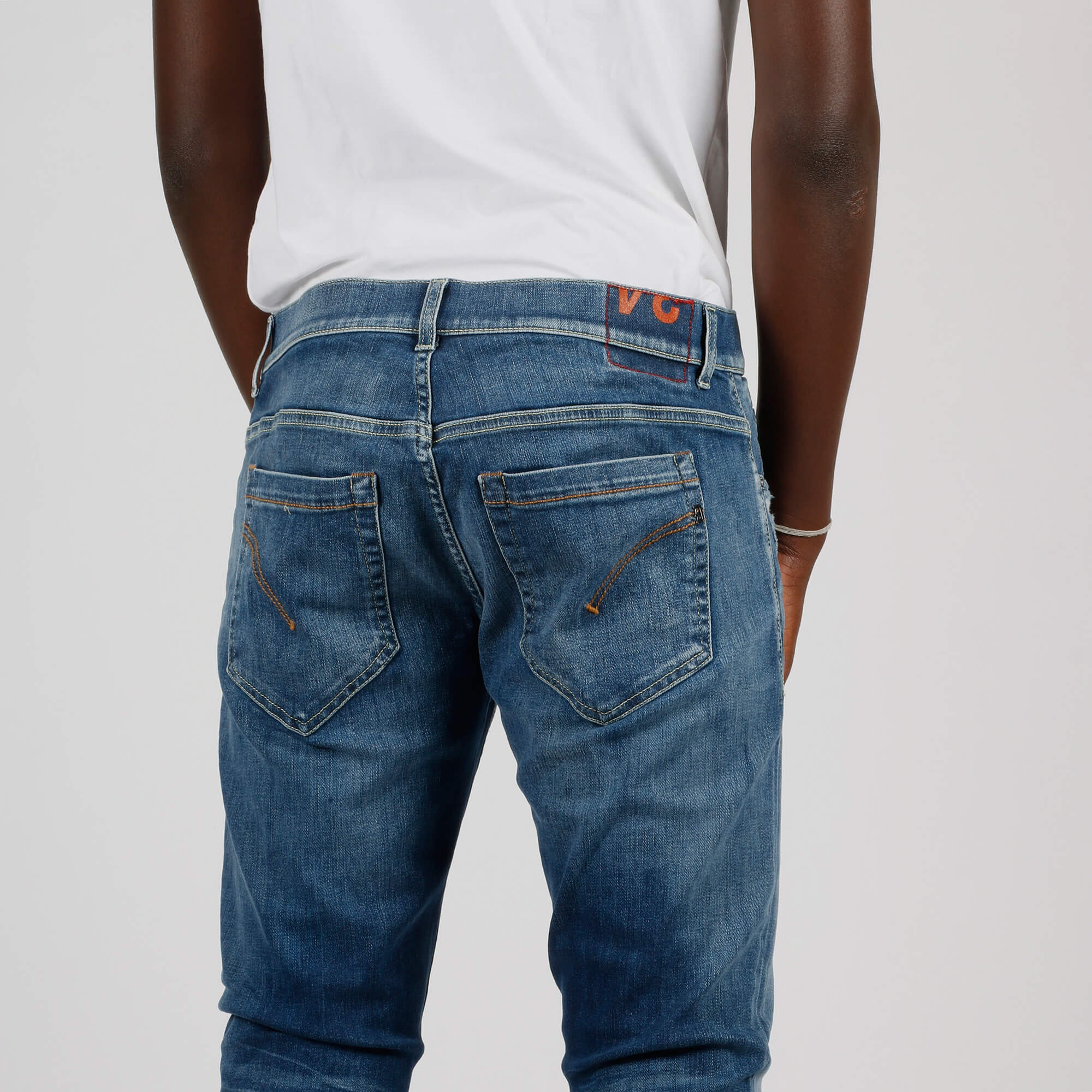 Pantalone george rotture tasca - Denim