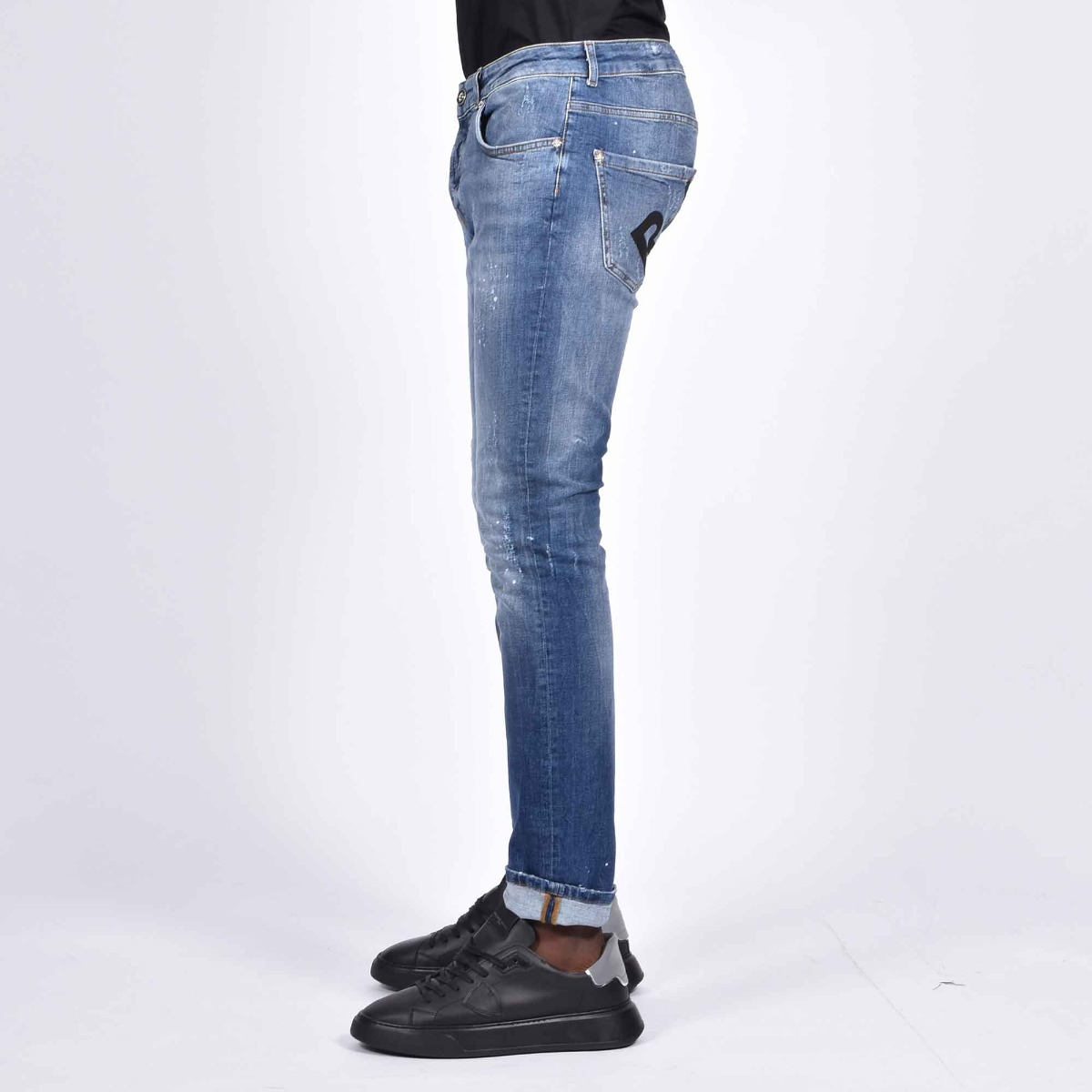 Jeans halland scritta rich