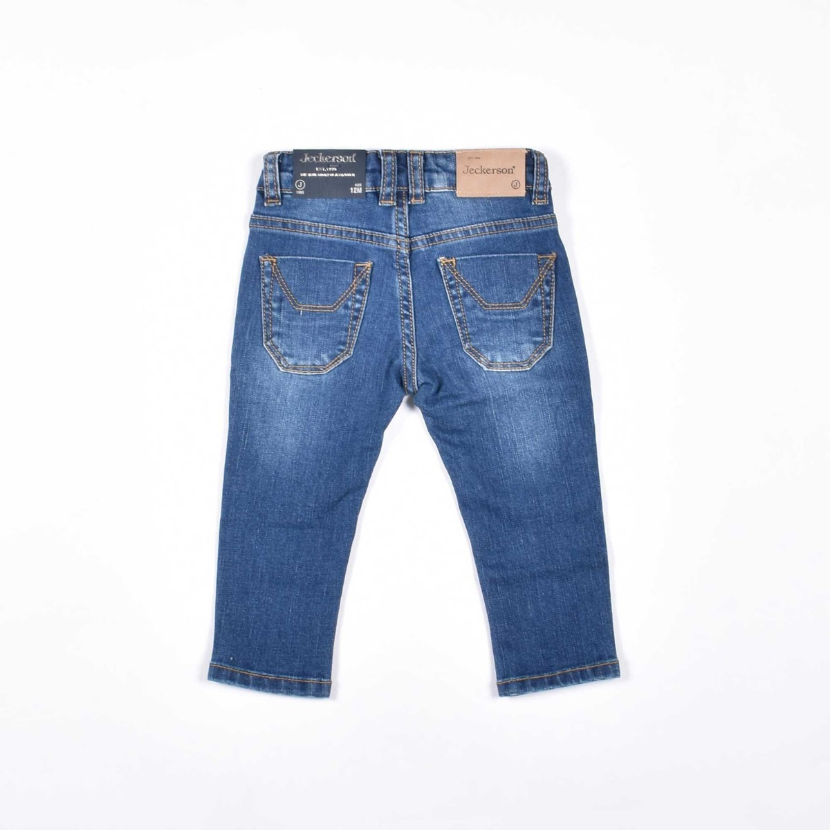 Jeans baby bandiera inglese- Denim