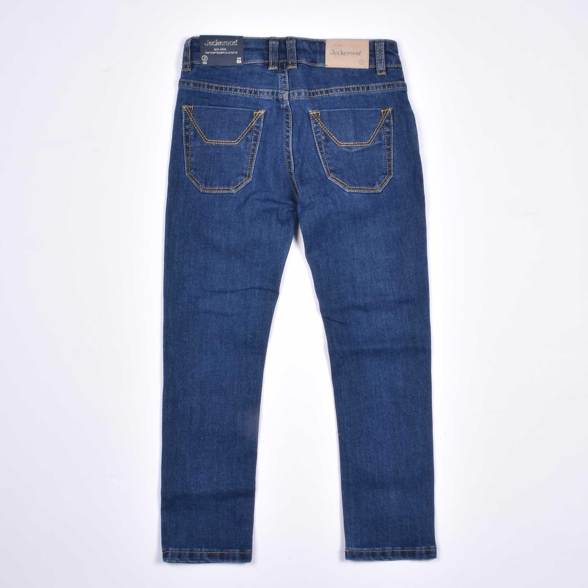 Jeans toppa alcantara blu  - Denim