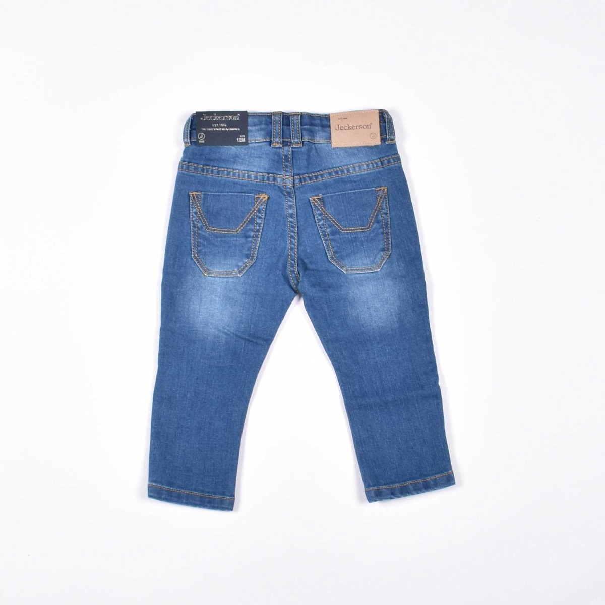 Jeans baby toppa camu- Denim/ Verde