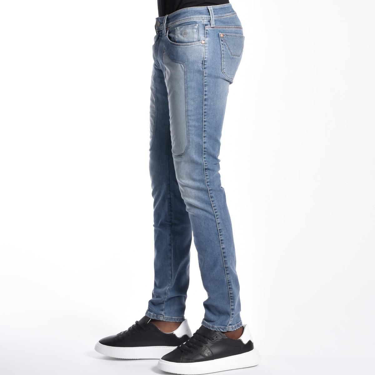 Jeans toppa alcantara - Denim