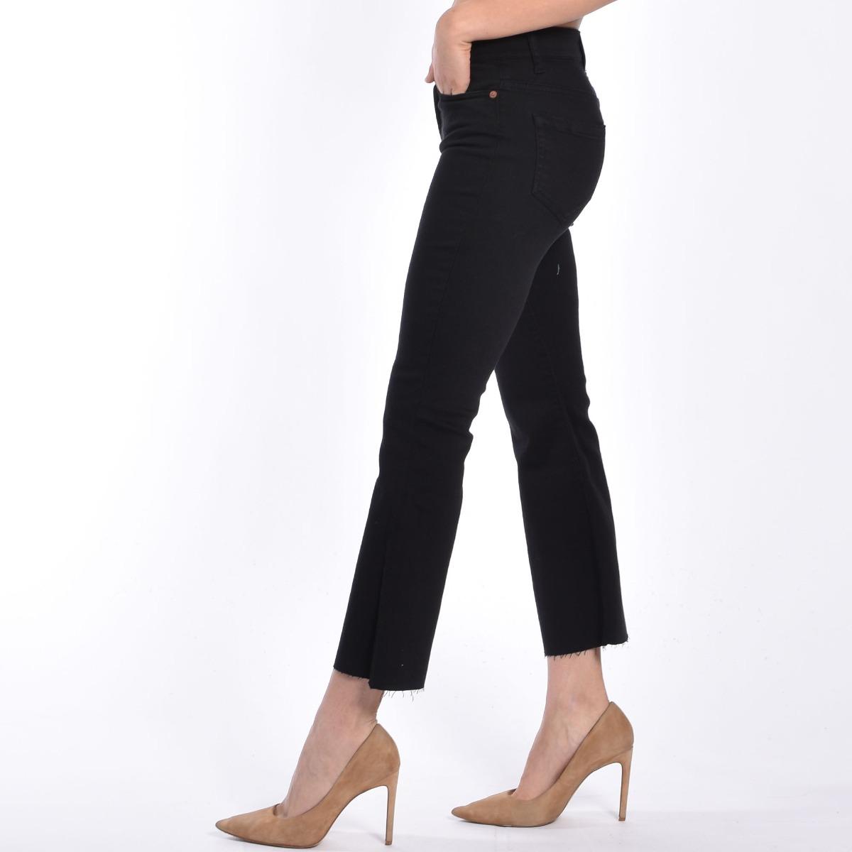 Jeans trombetta - Denim nero