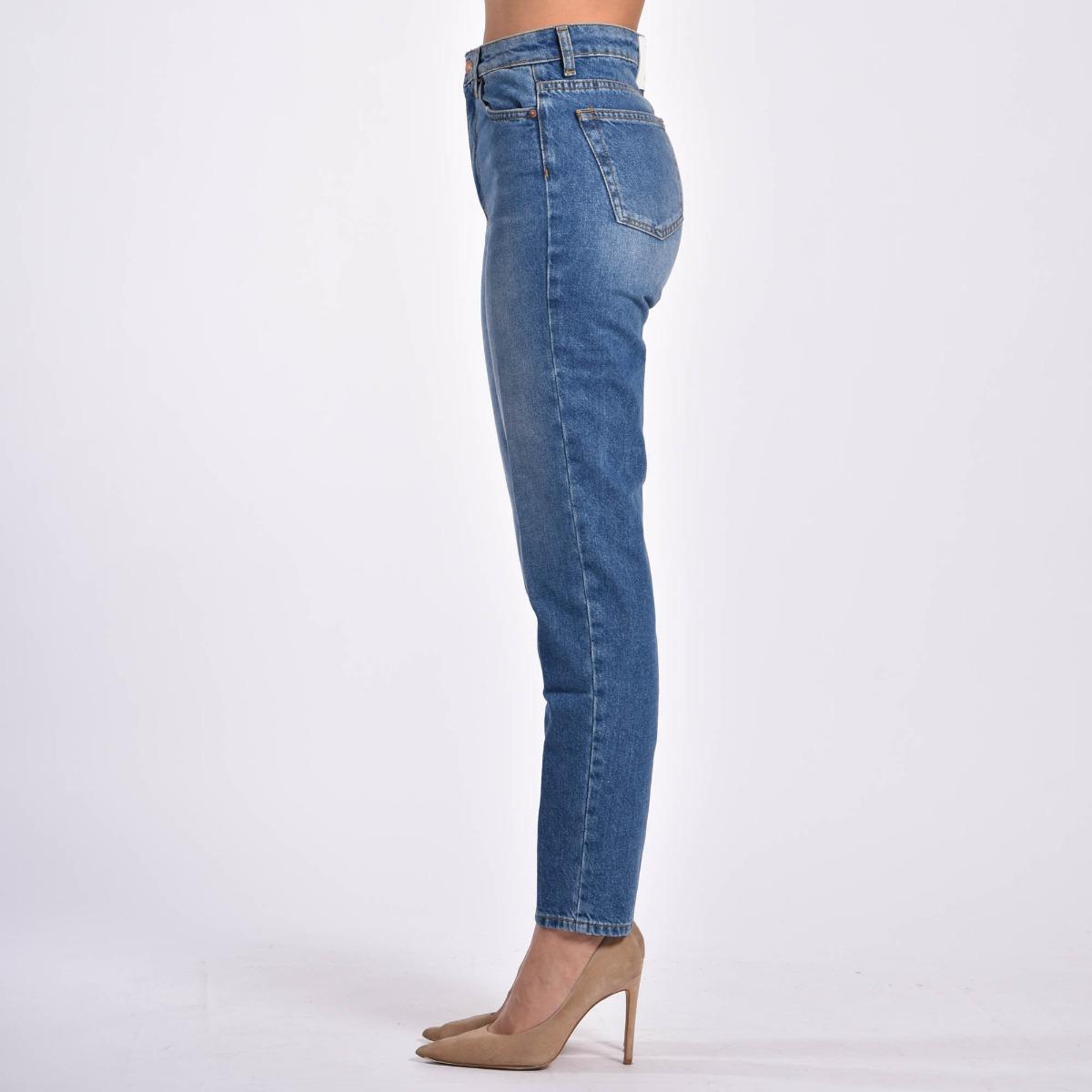 Jeans vita alta - Denim