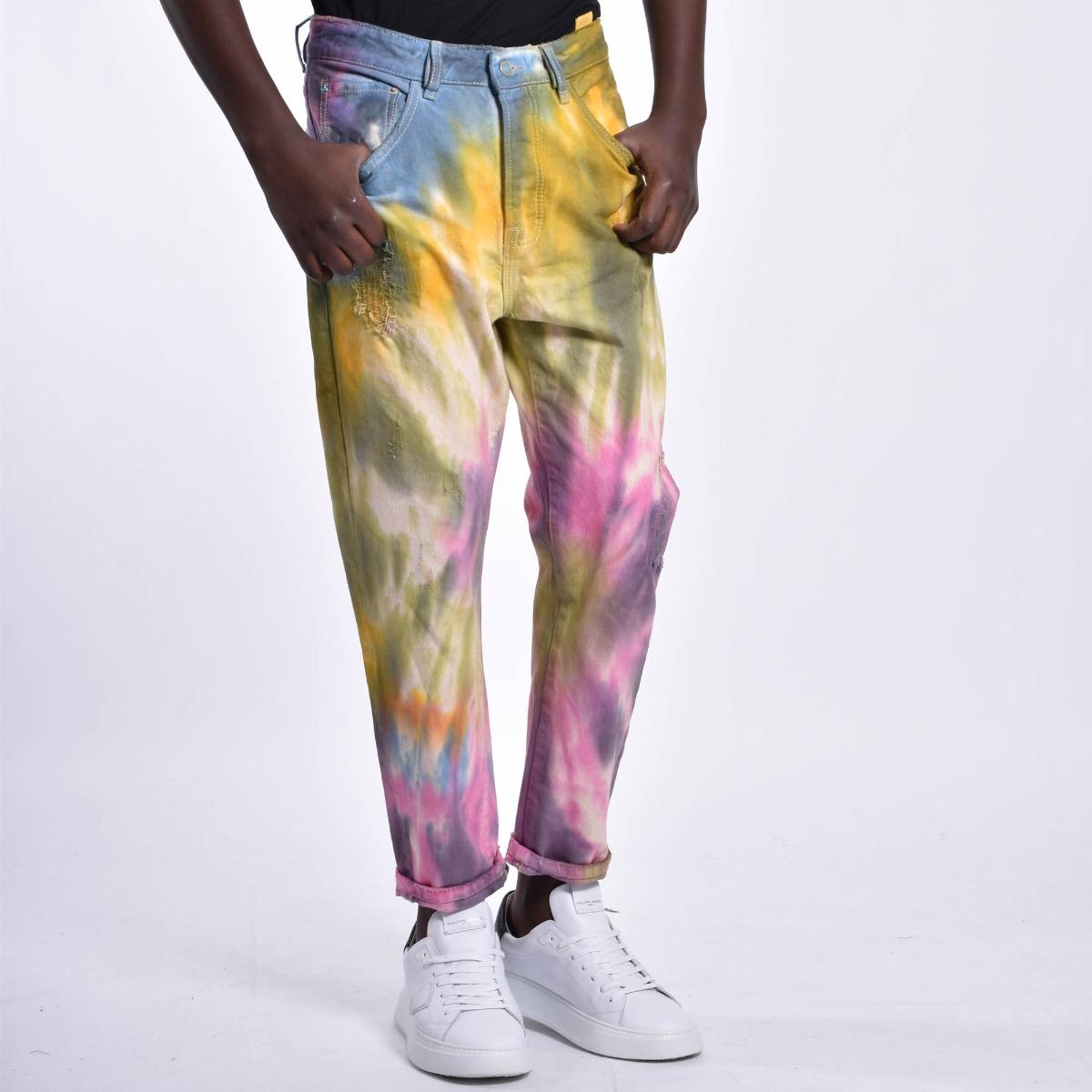 Jeans rainbow - Multicolore
