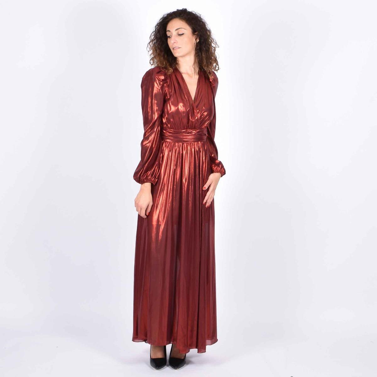 Long dress jami- Rosso