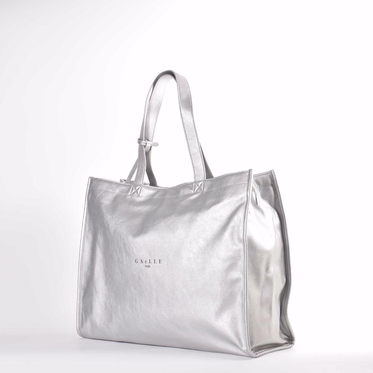 Maxi shopper logo - Argento