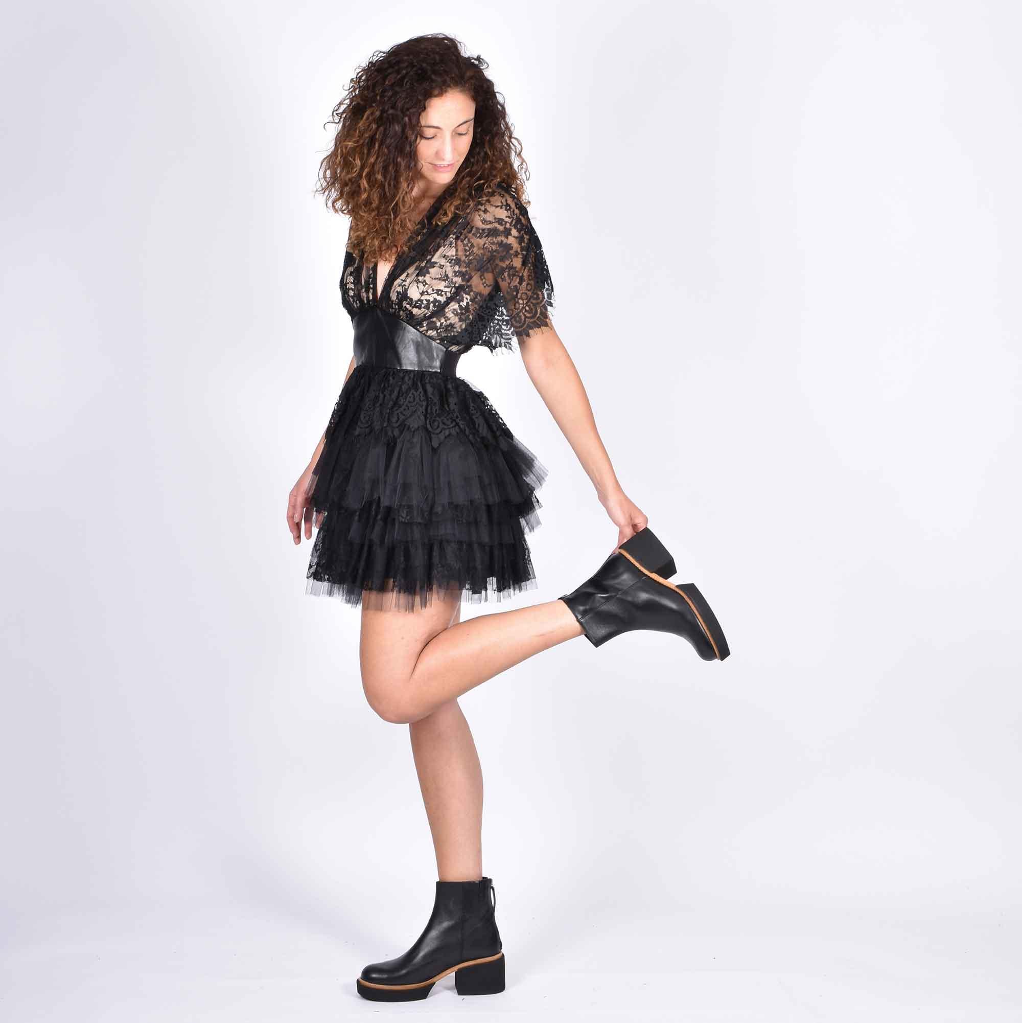 Mini dress astrid - Nero