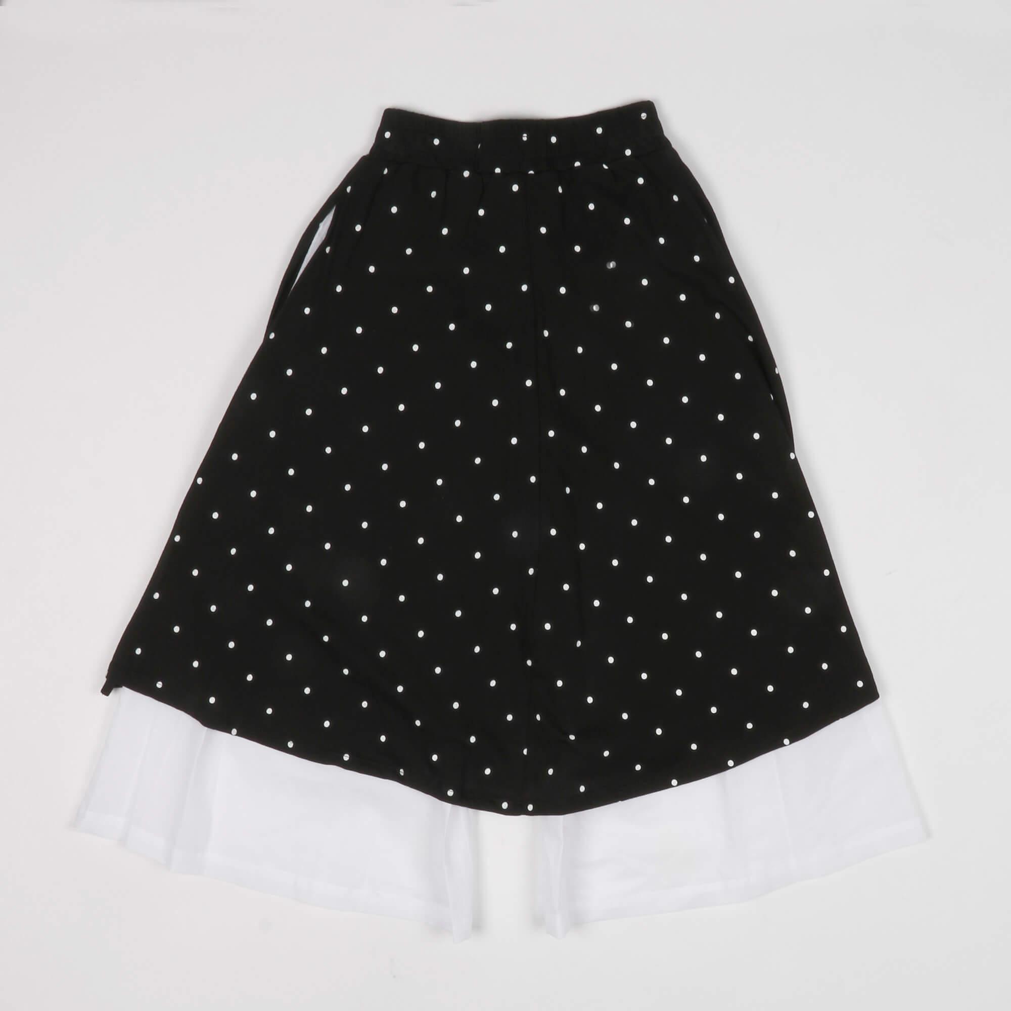 Panta gonna bicolore -Bianco/ Nero