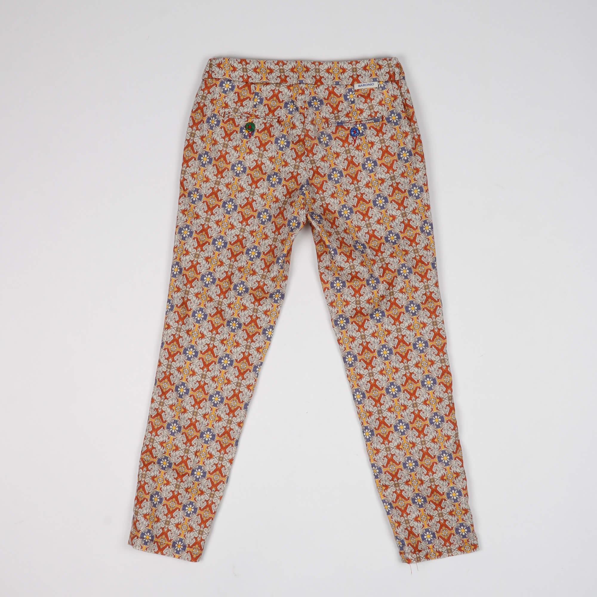 Pantalaccio fantasia - Arancio