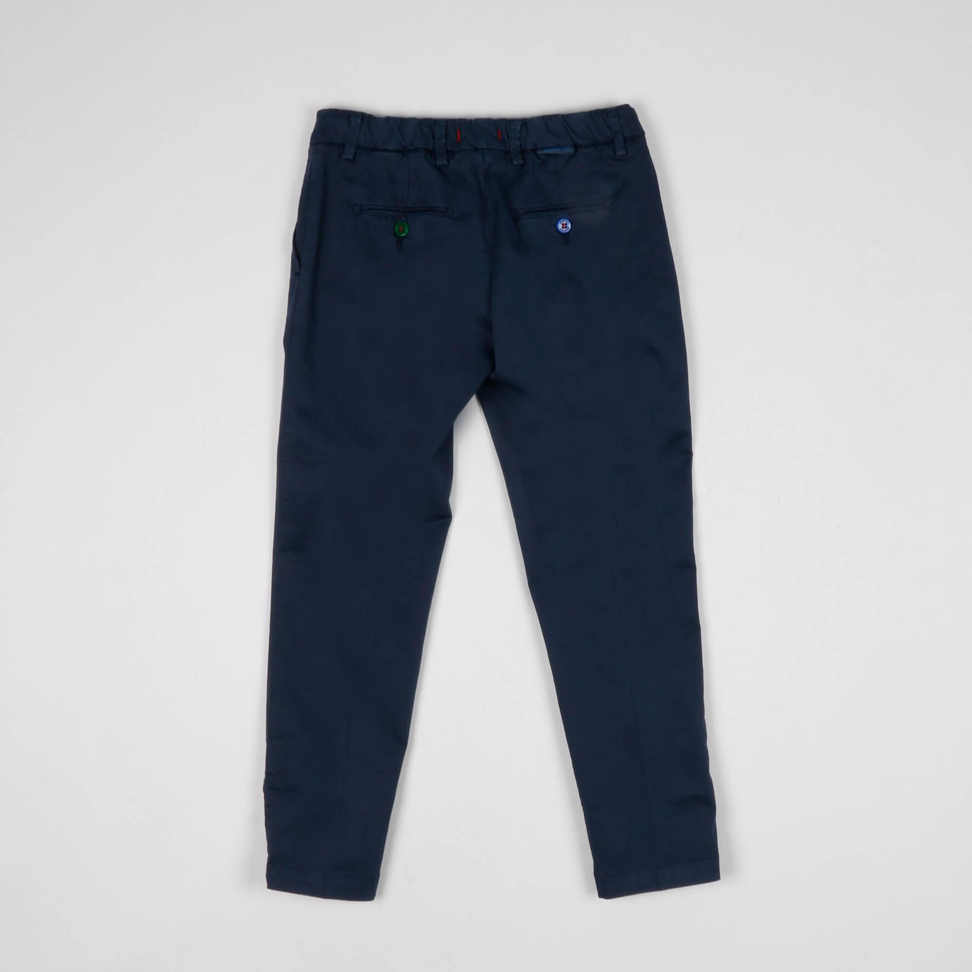 Pantalone tasca america- Blu