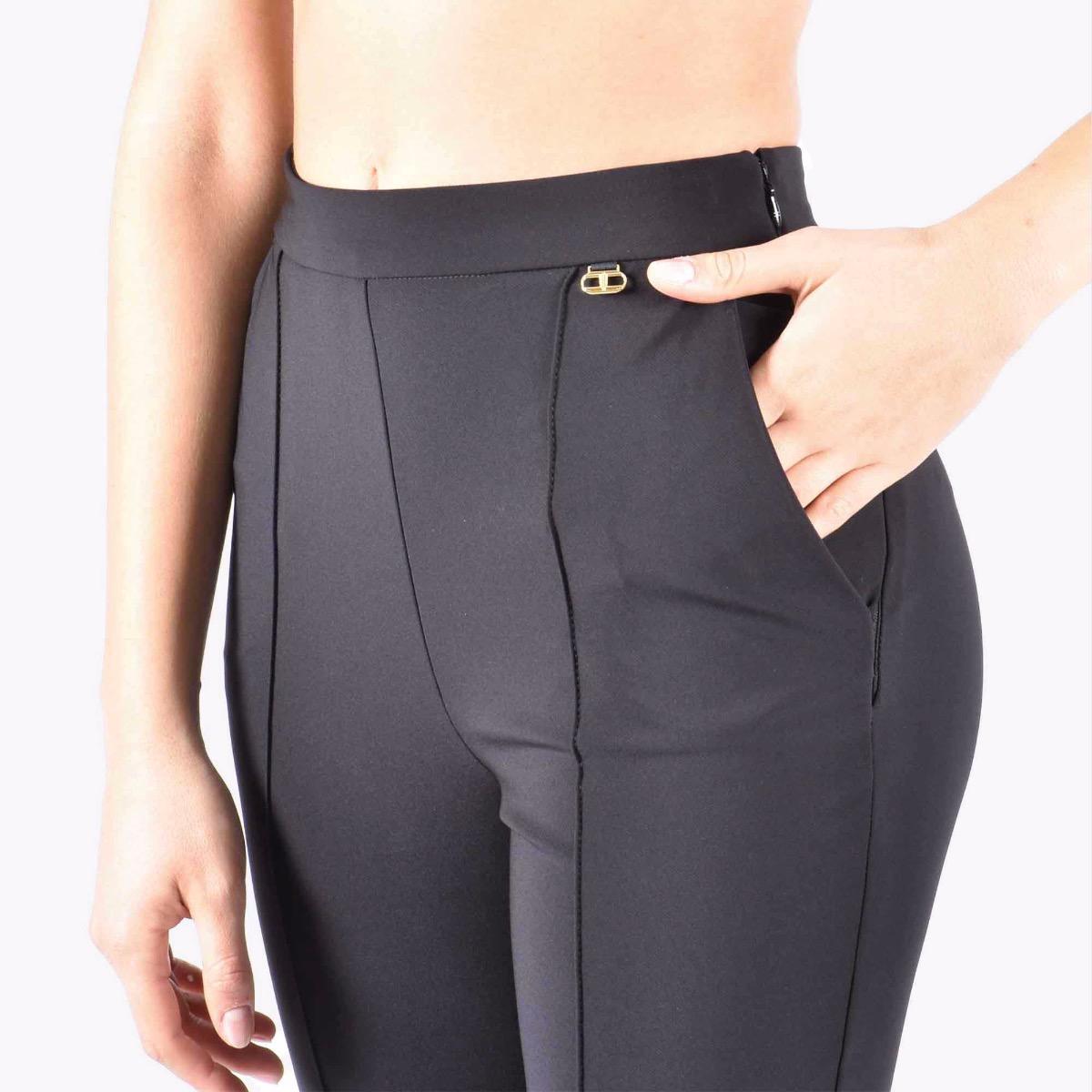 Pantalone essential- Nero
