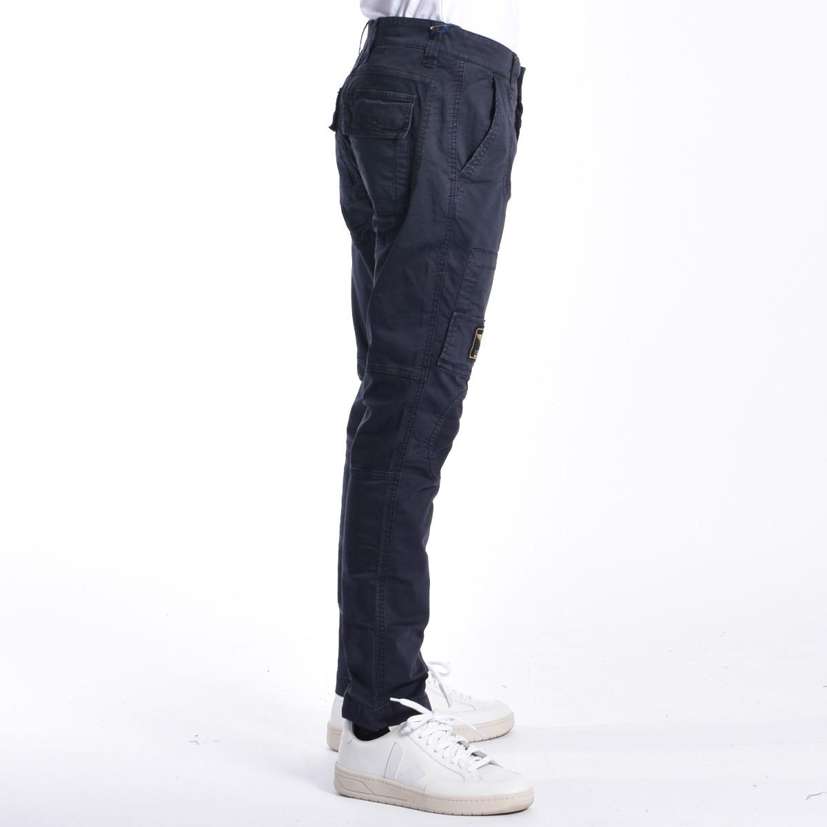 Pantalone anti- g- Blu navy
