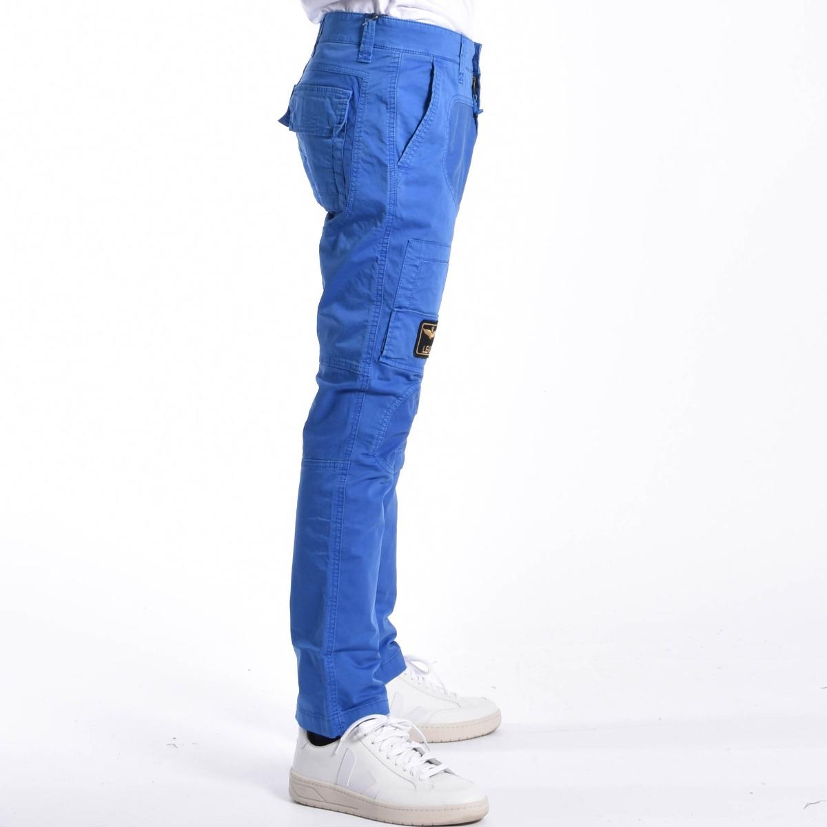 Pantalone anti- g- Blu royal
