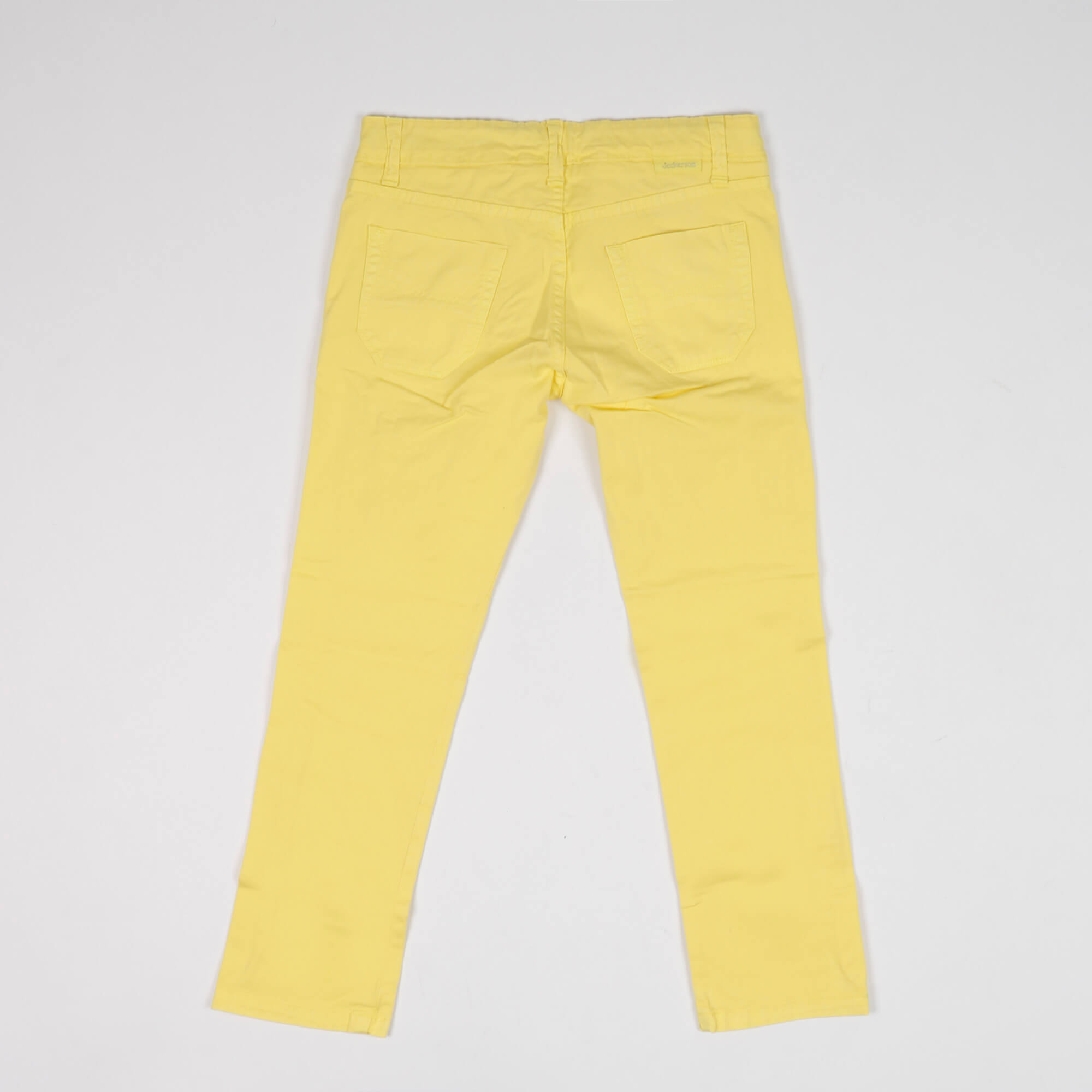 Pantalone con toppe - Giallo