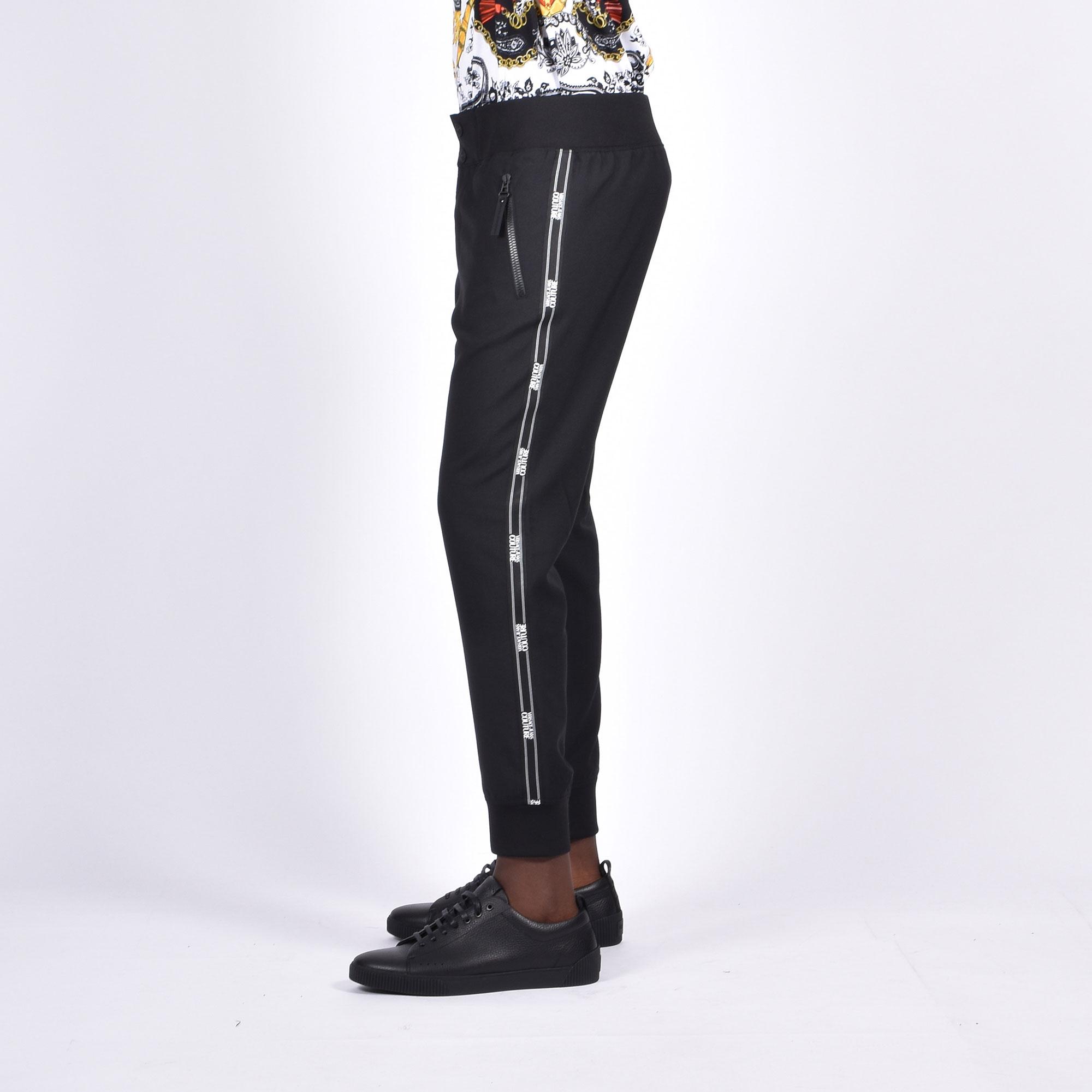 Pantalone banda logo - Nero