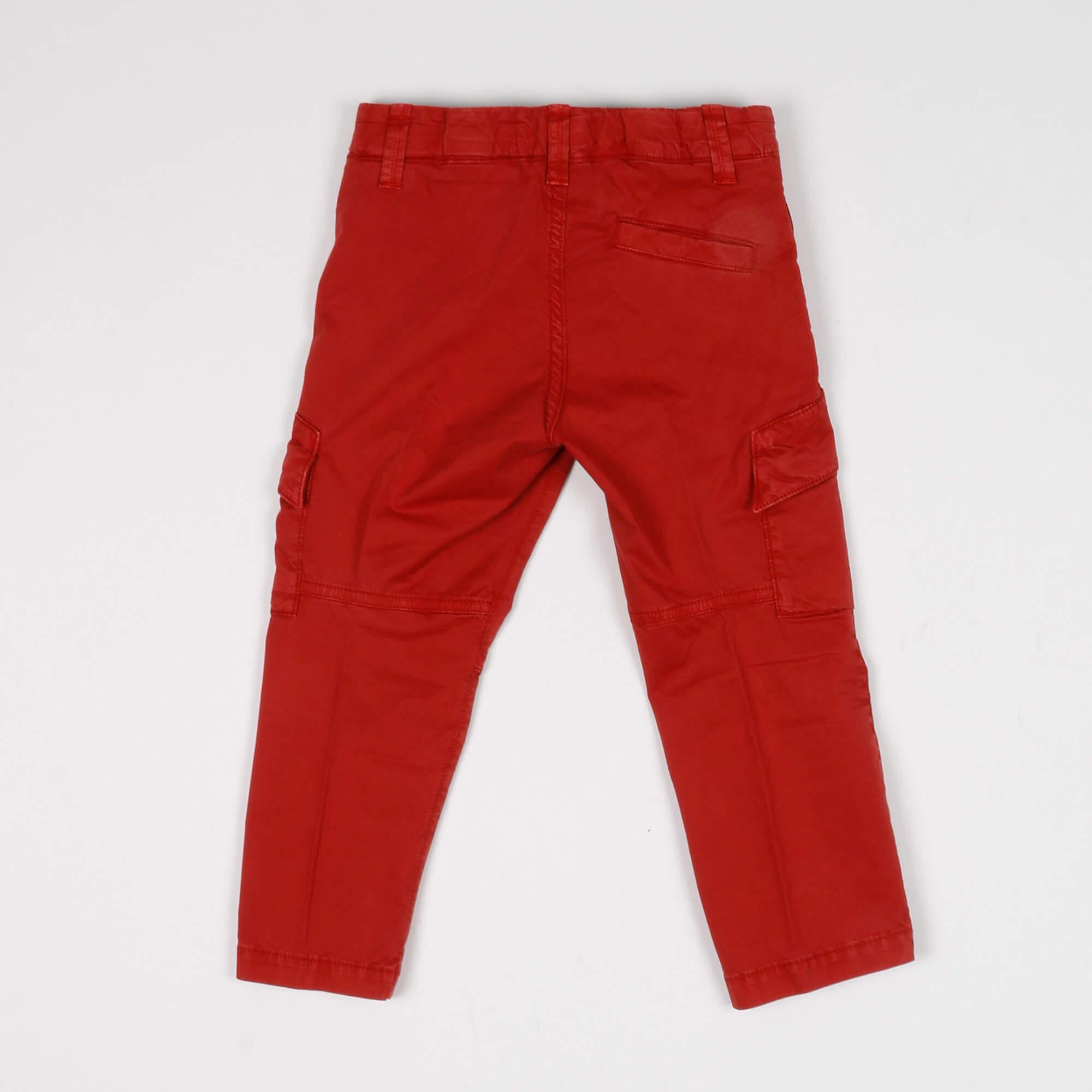 Pantalone cargo - Mattone