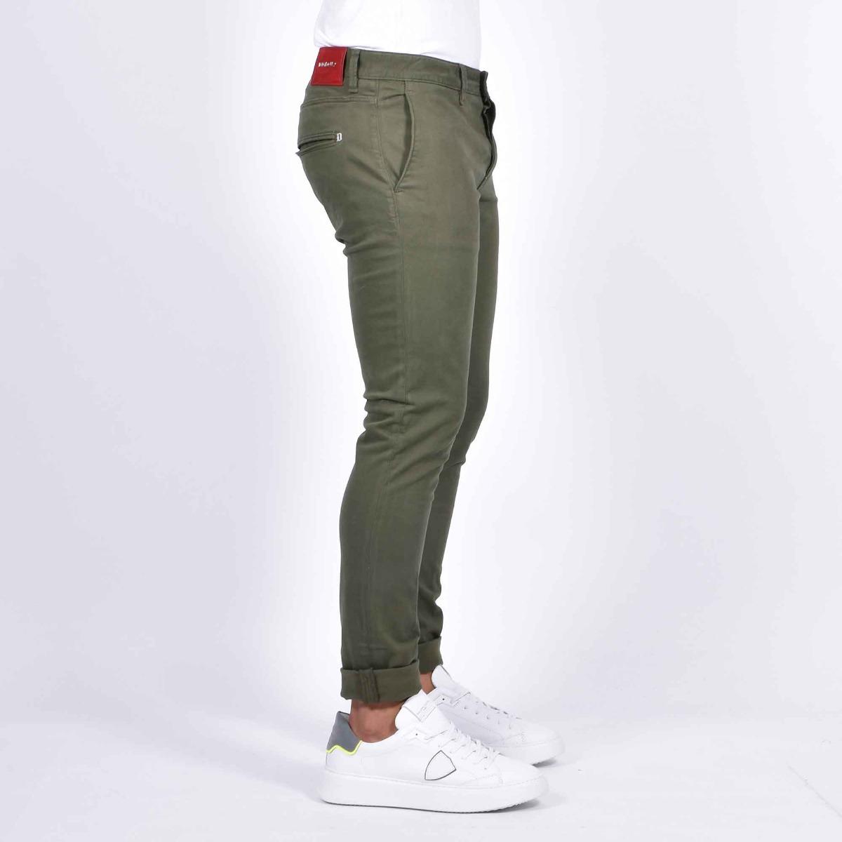Pantalone chester - Verde militare