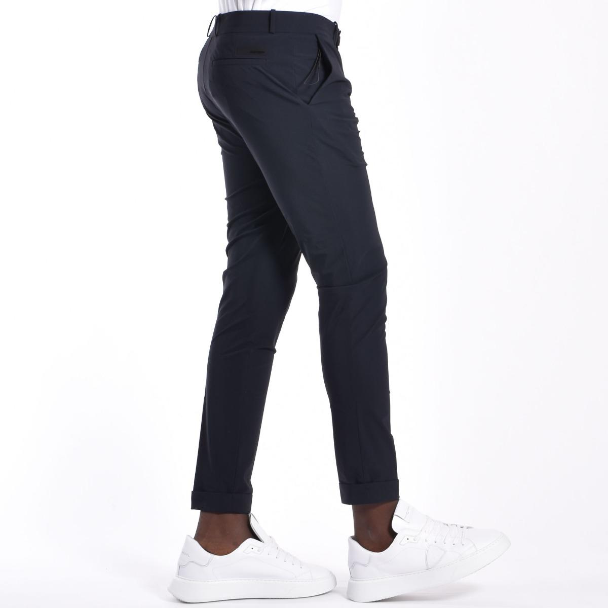 Pantalone chino - Blu black
