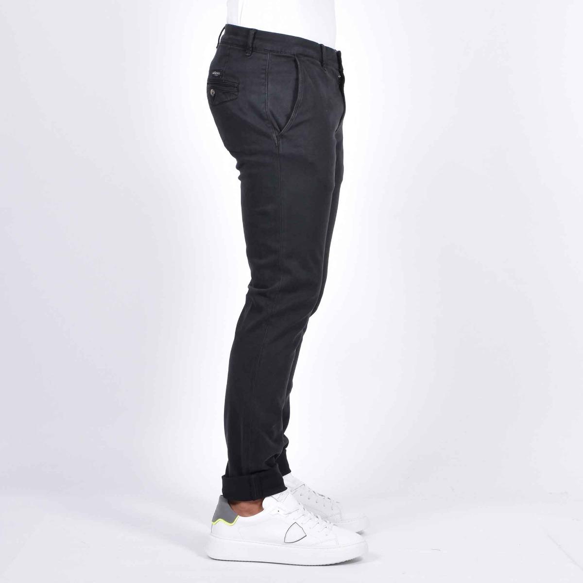 Pantalone chino slim - Nero