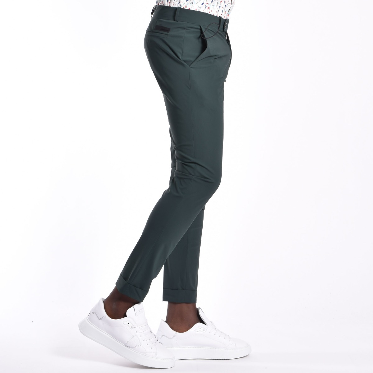 Pantalone chino - Verde scuro
