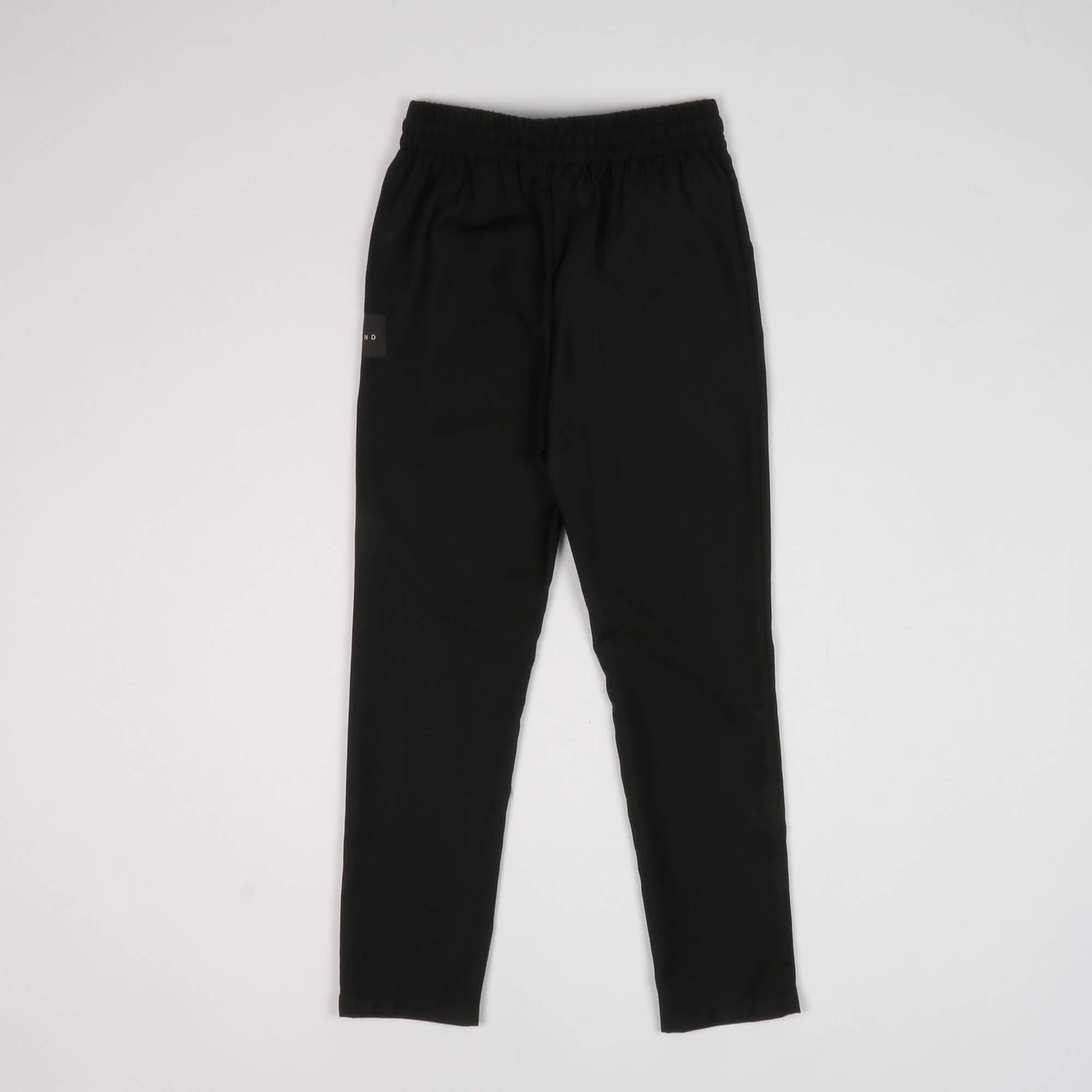 Pantalone etichetta logo - Nero