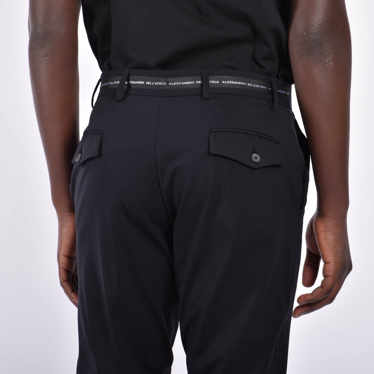 Pantaloni fascia logo - Nero