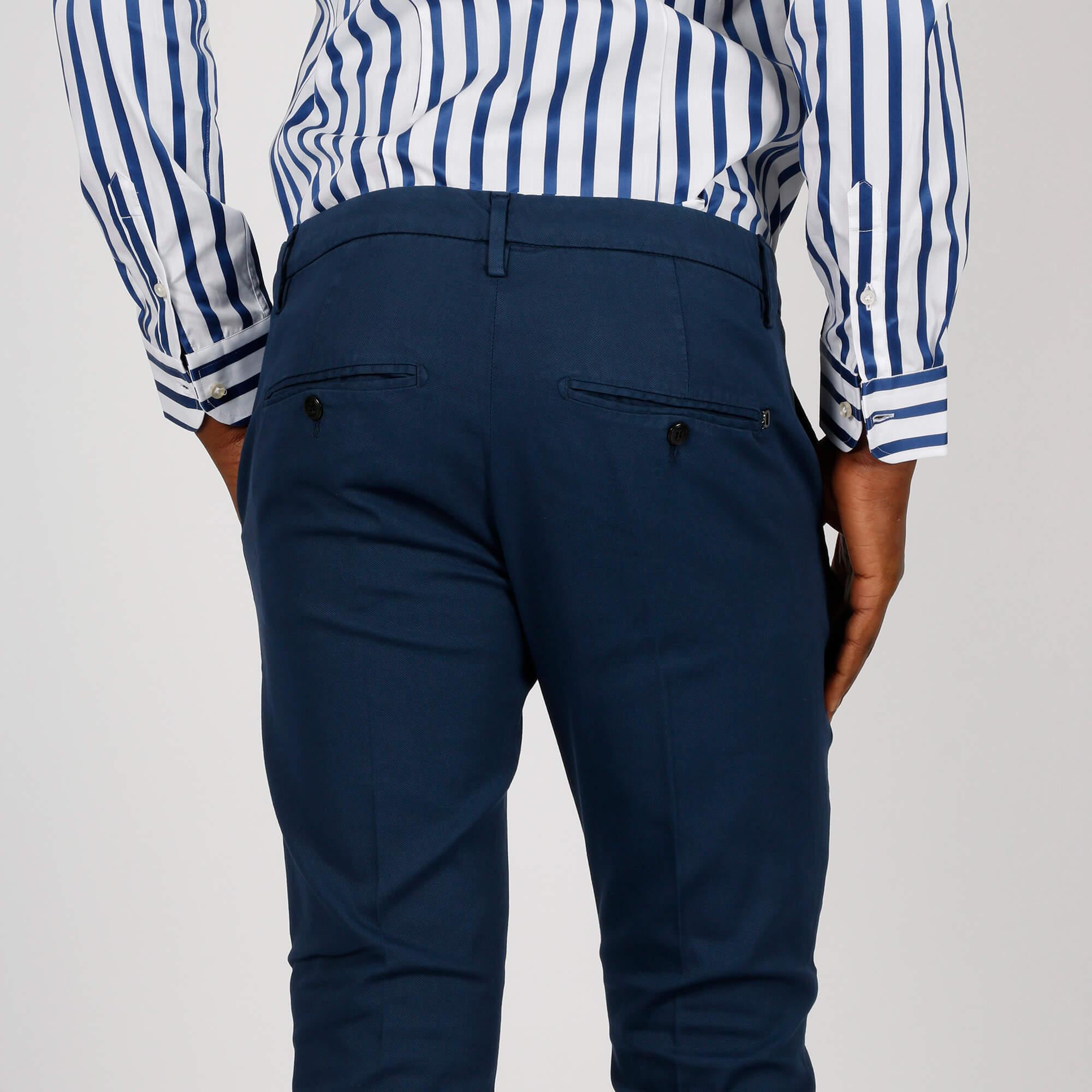 Pantalone gaubert slim - Blu