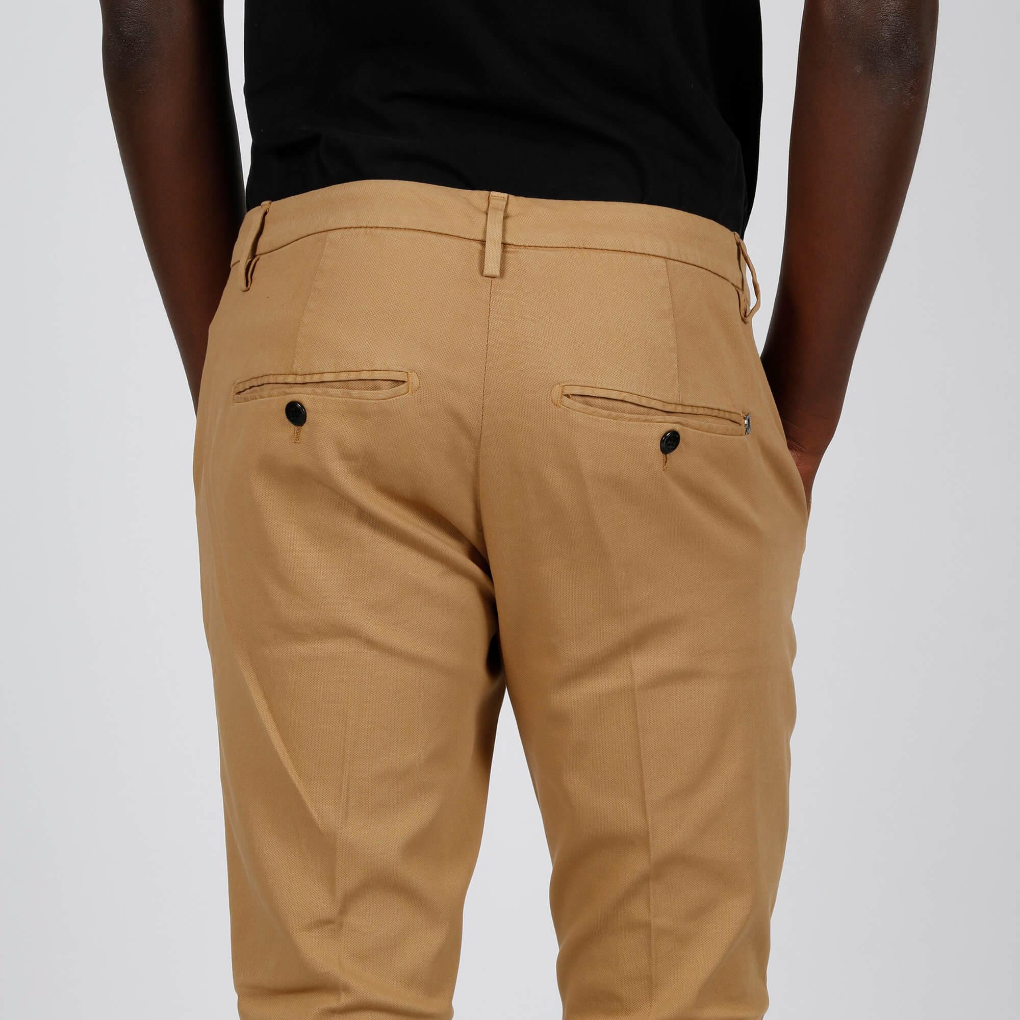 Pantalone gaubert slim - Cammello