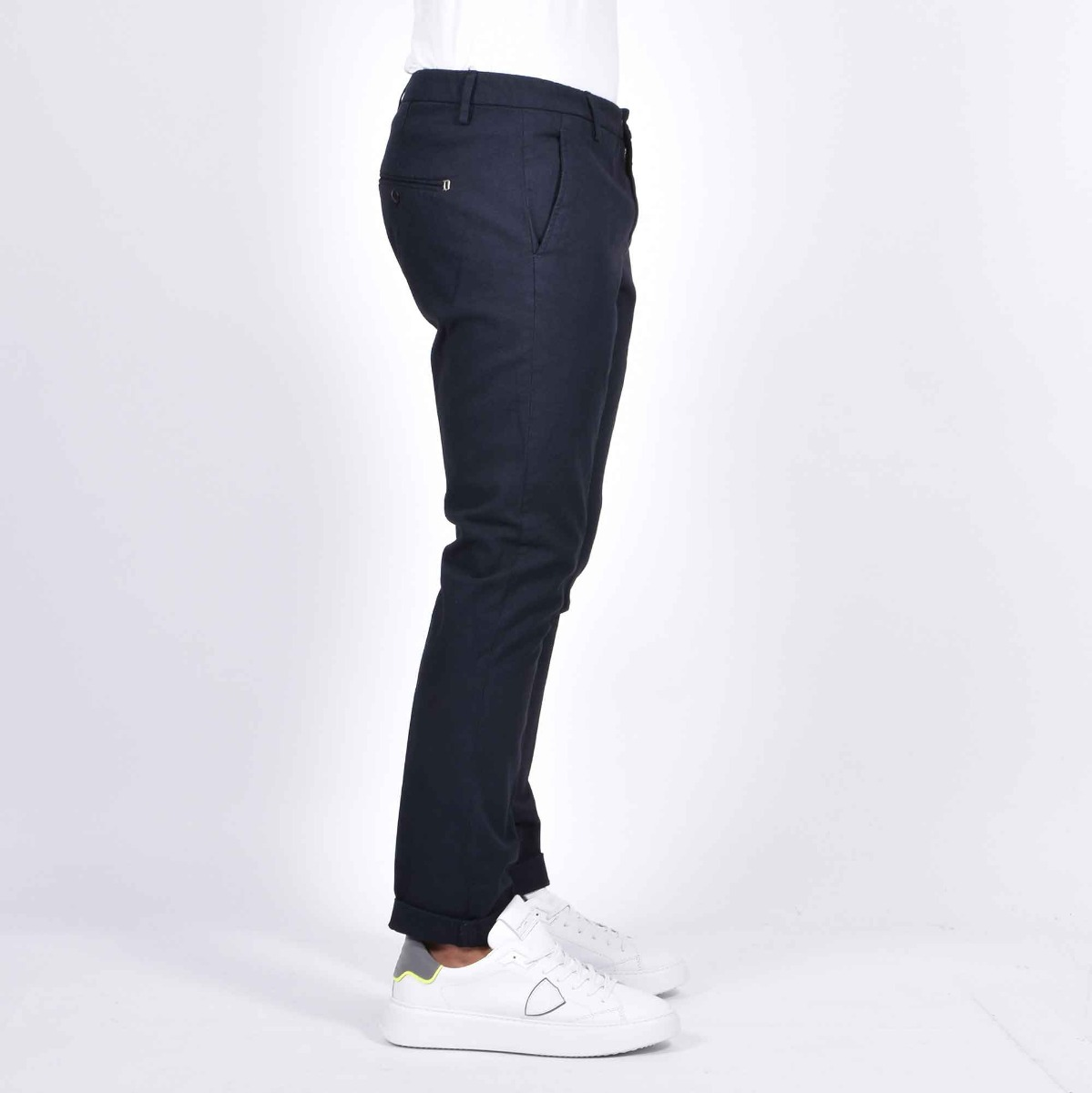 Pantalone gaubert puntinato - Blu scuro
