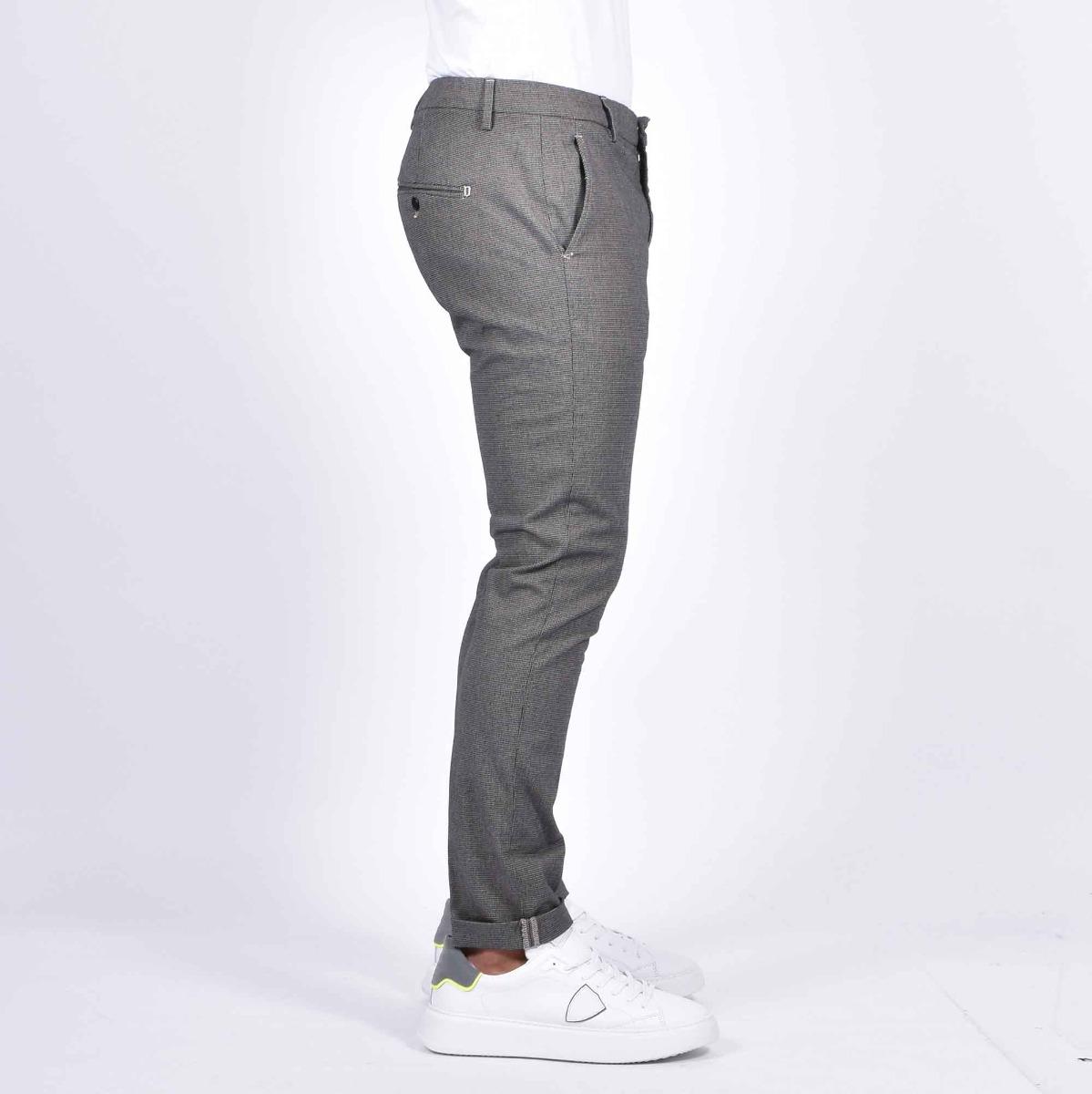 Pantalone gaubert puntinato - Nero